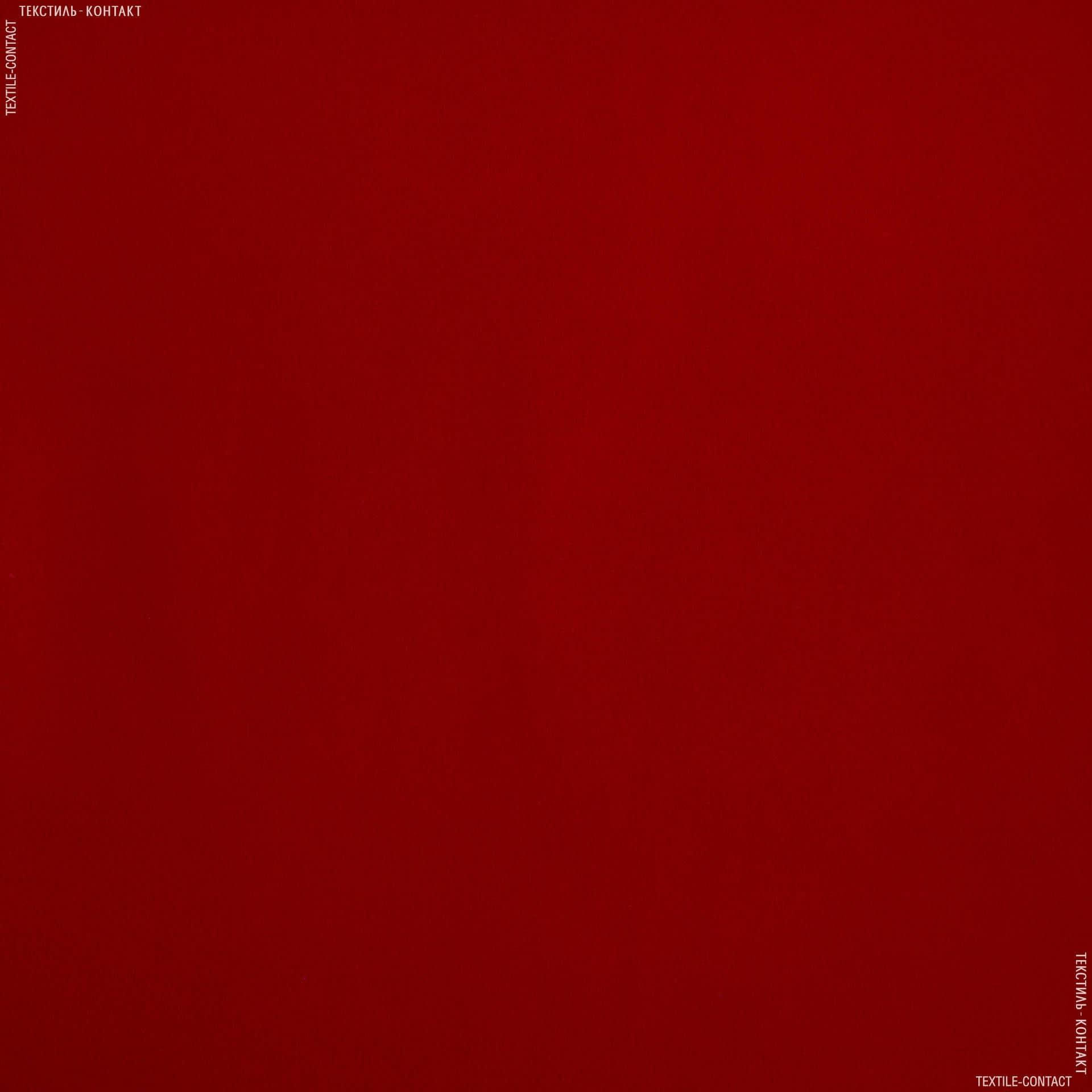 Тканини церковна тканина - Замша штучна яскраво-червоний