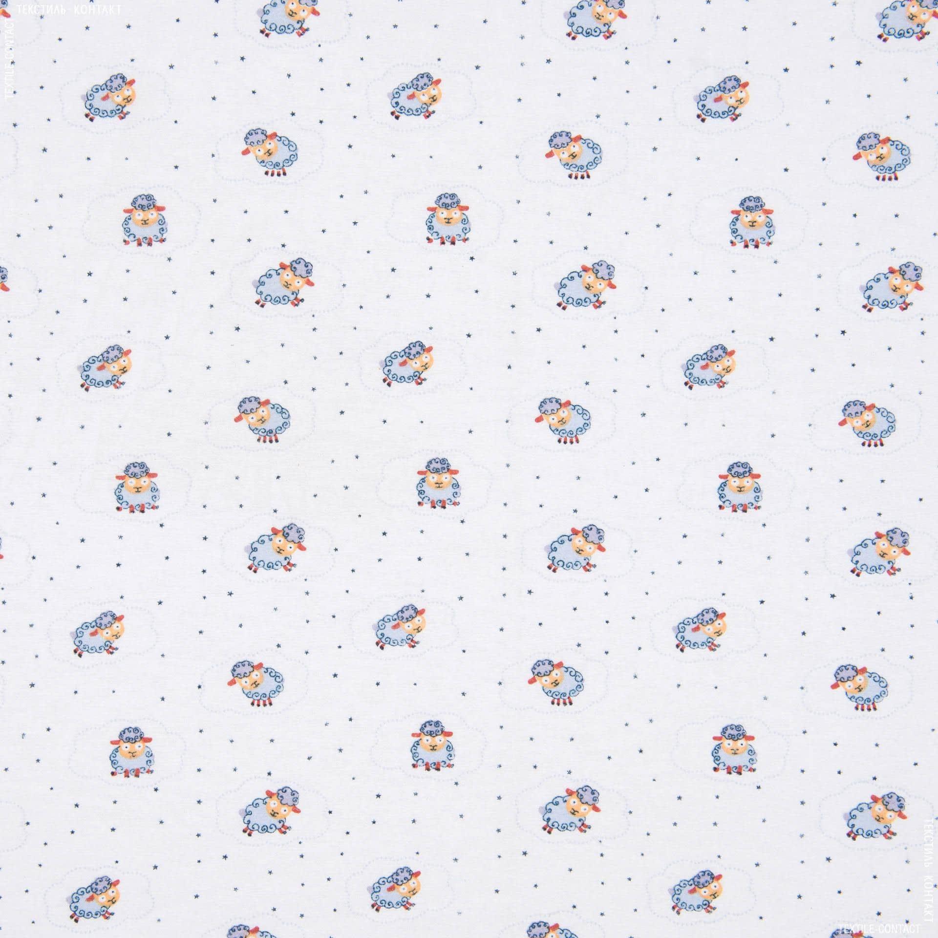 Ткани для детской одежды - Фланель белоземельная детская