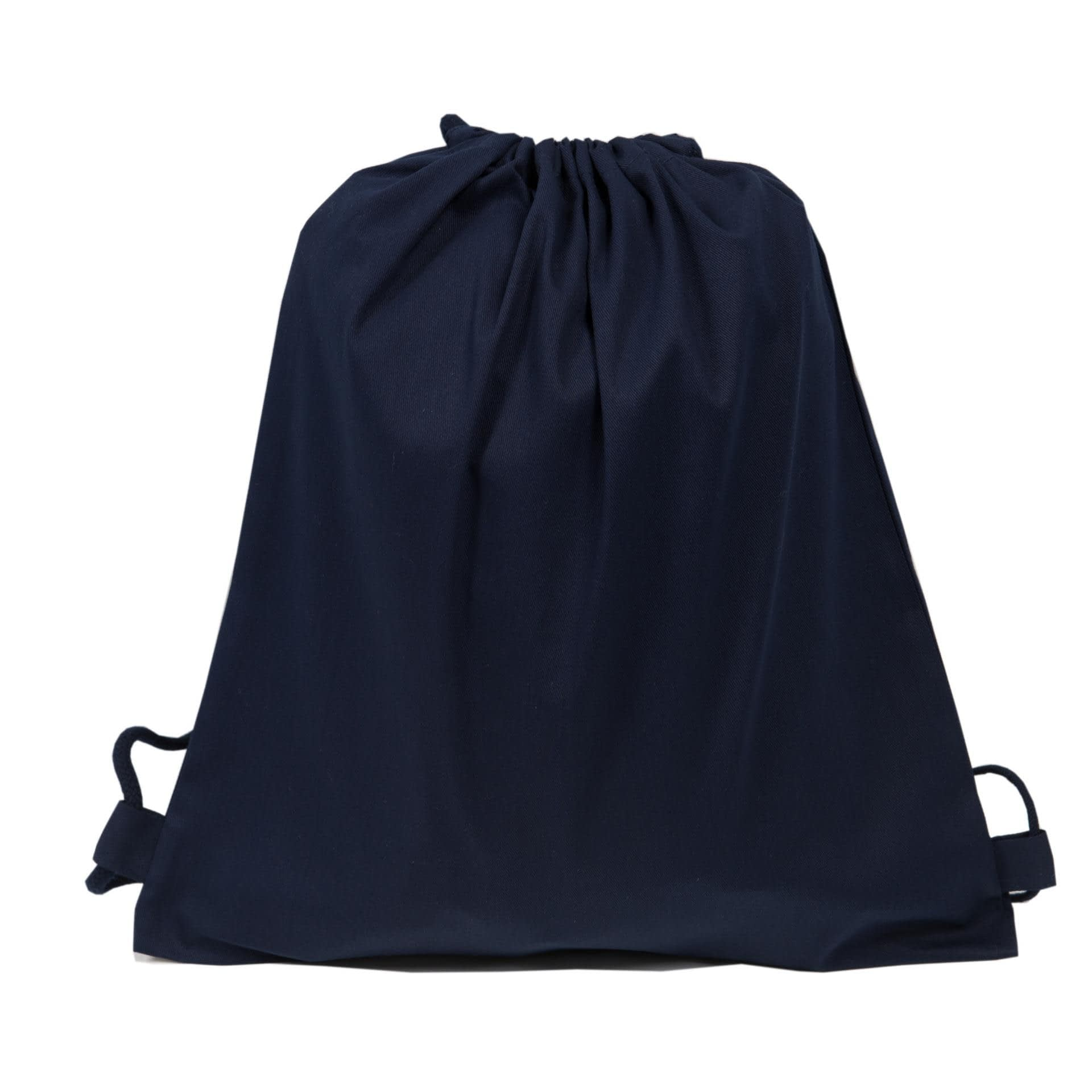 Ткани экосумка - Эко рюкзак саржа 38х42 см. т. Синий