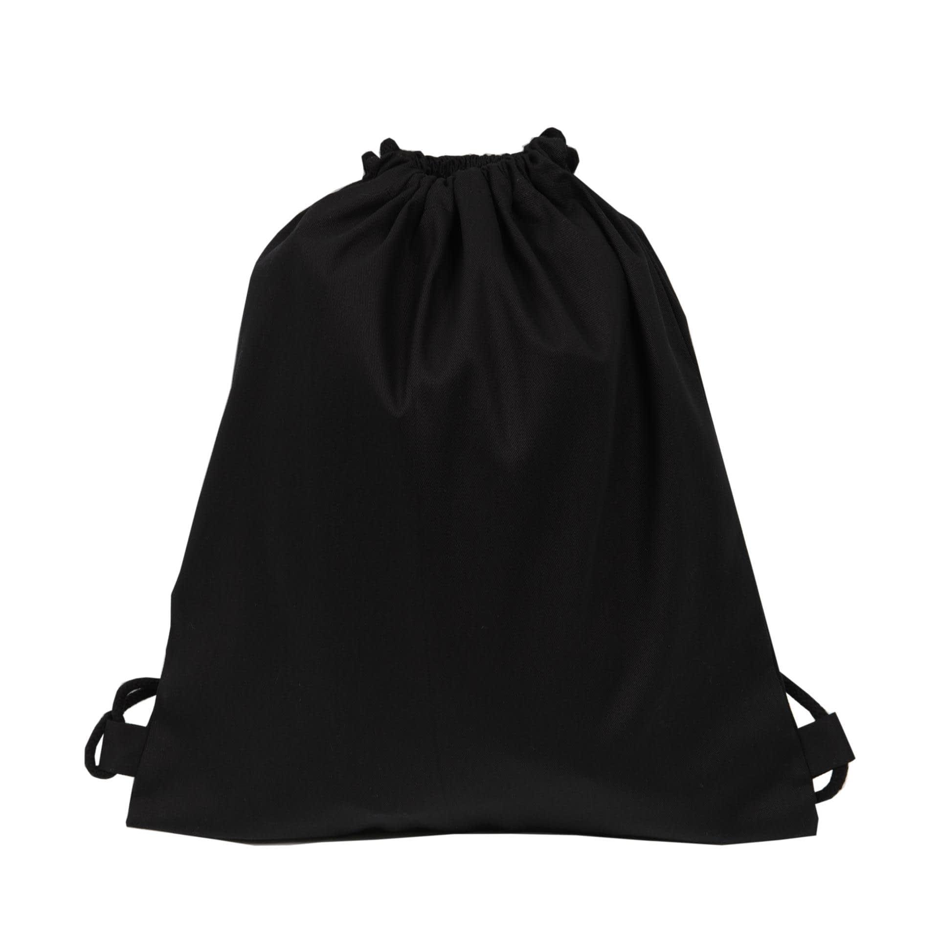 Ткани экосумка - Эко рюкзак саржа 38х42 см. черный