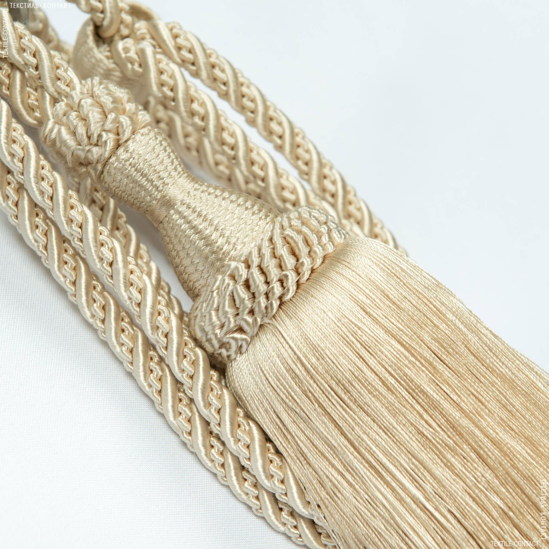 Ткани фурнитура для декора - Кисти солар беж