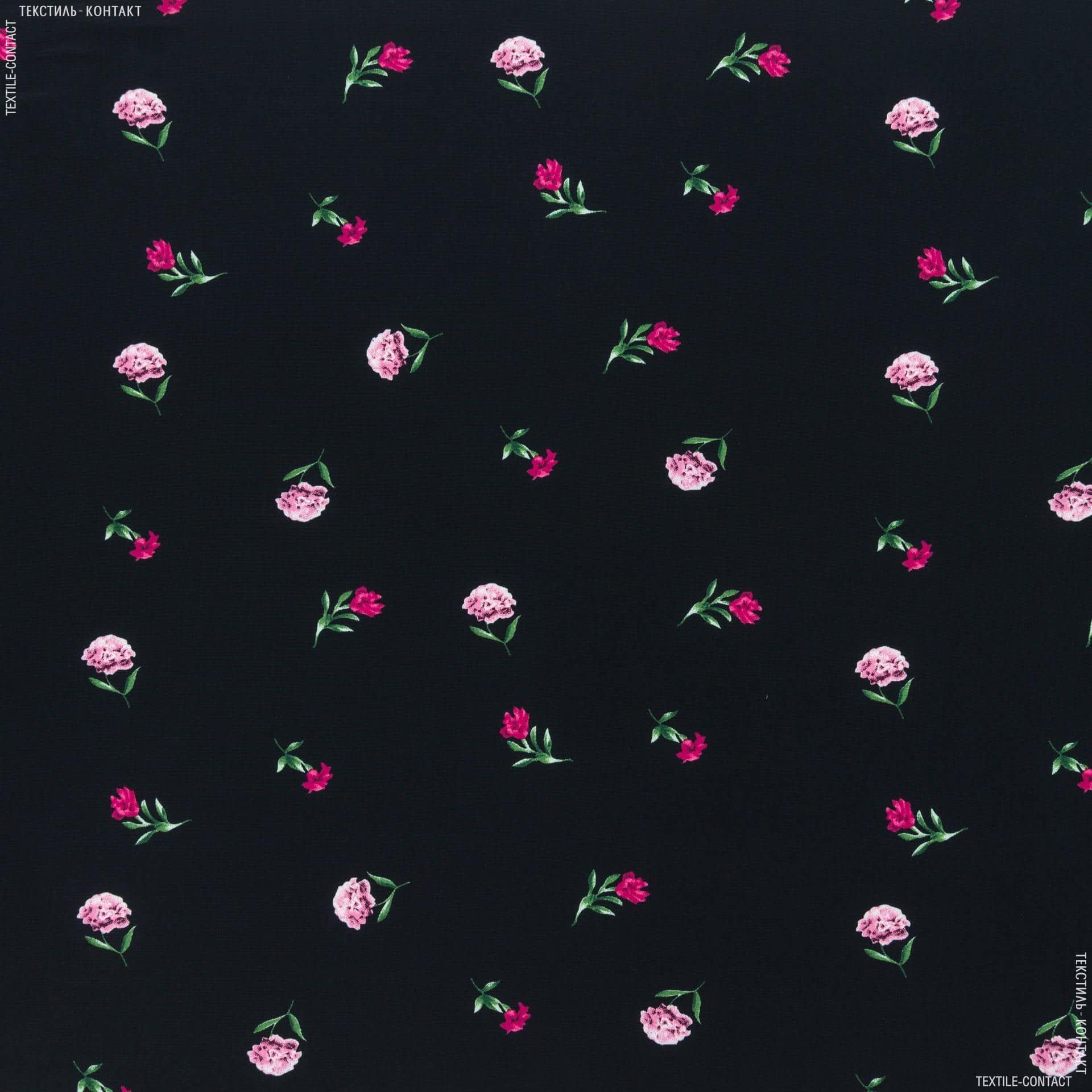 Ткани для белья - Крепдешин принт