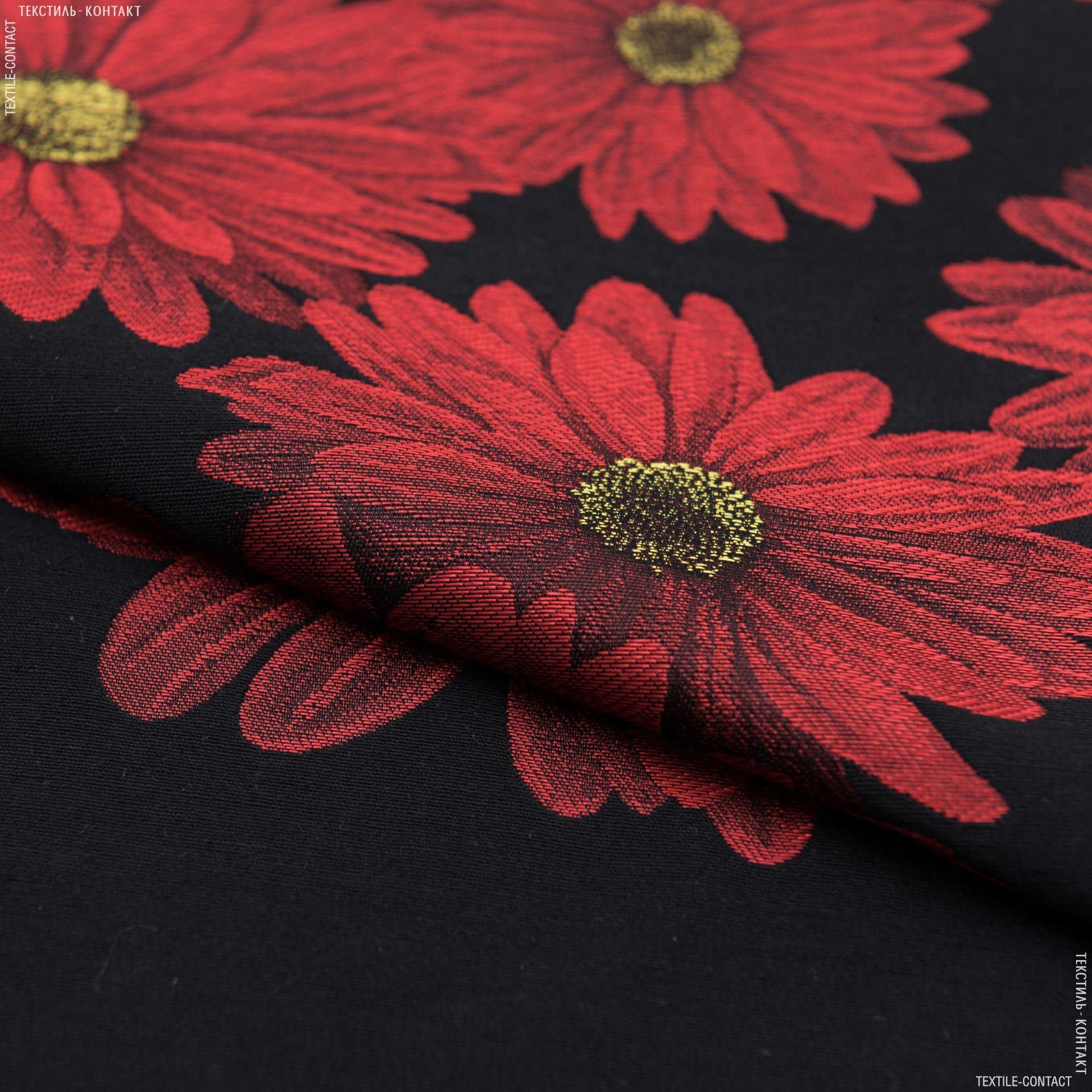 Ткани для костюмов - Костюмный жаккард черный