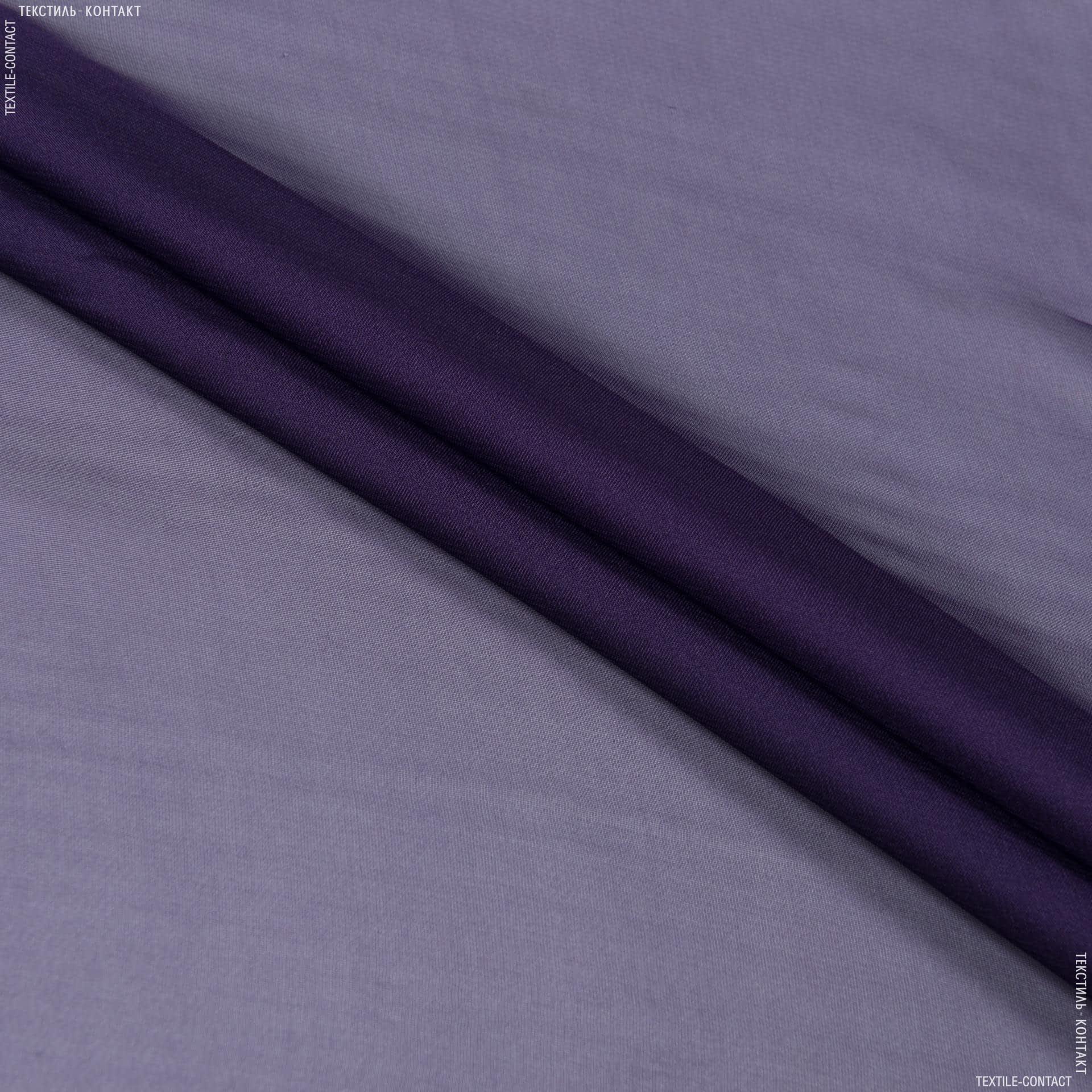 Тканини для суконь - Шифон темно-фіолетовий