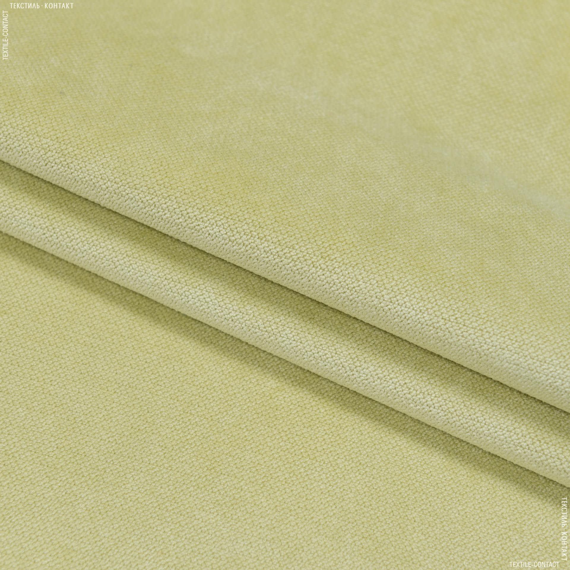 Ткани для мебели - Велюр будапешт/budapest зеленый чай