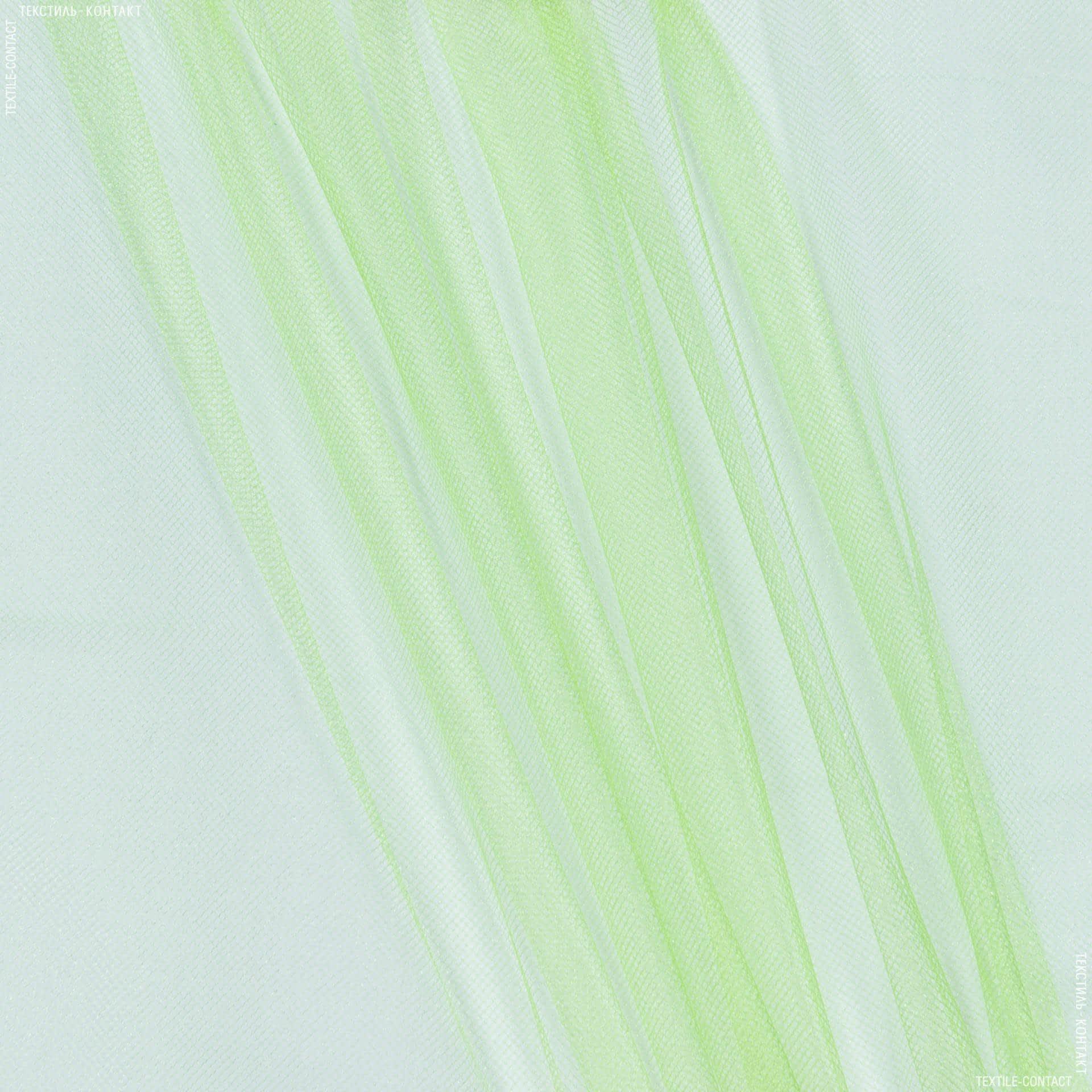 Тканини для суконь - Фатин блискучий фосфорний