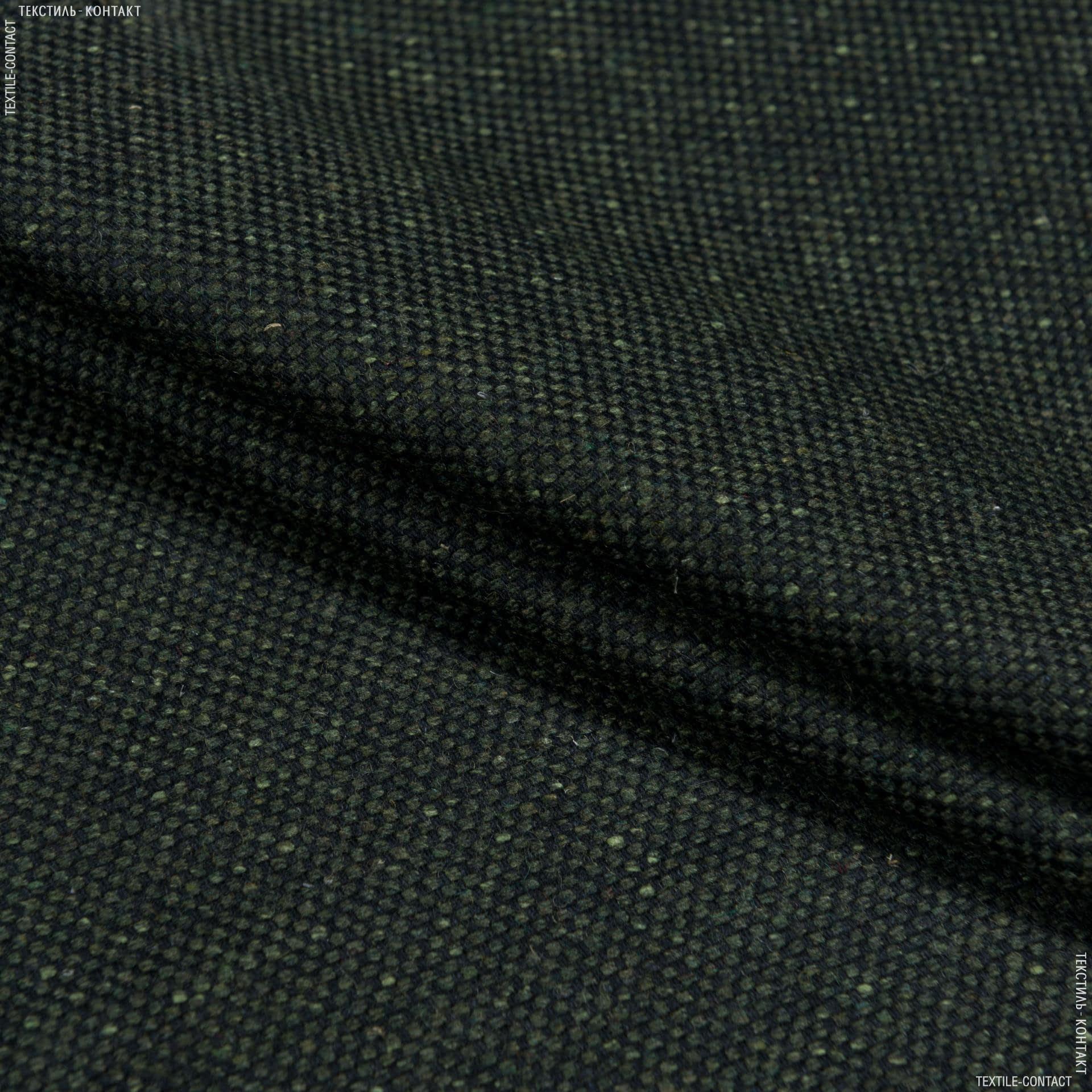 Тканини для штанів - Костюмна gifitex  піке темно-зелений