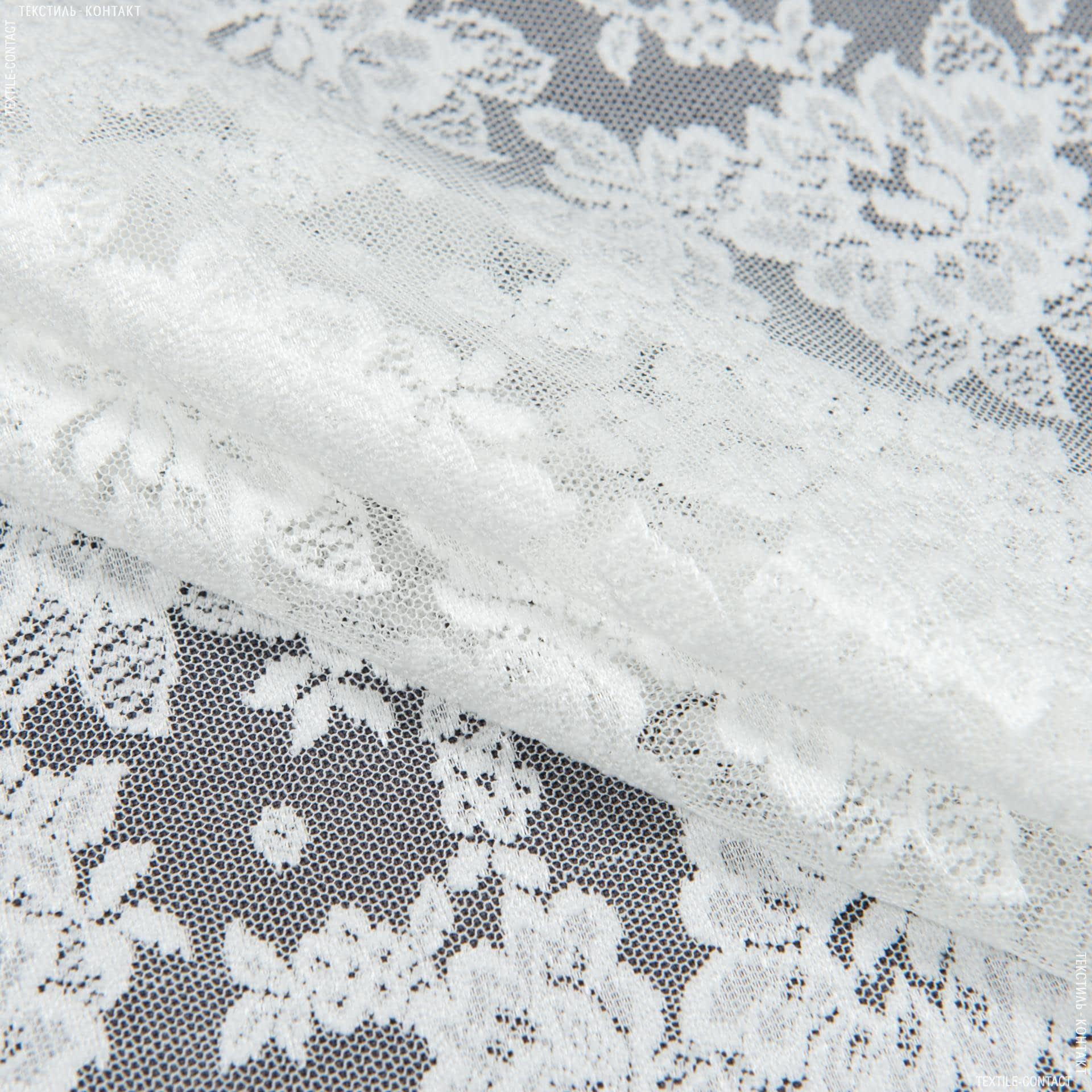 Ткани гардинные ткани - Гардинное полотно гипюр кармела молочный