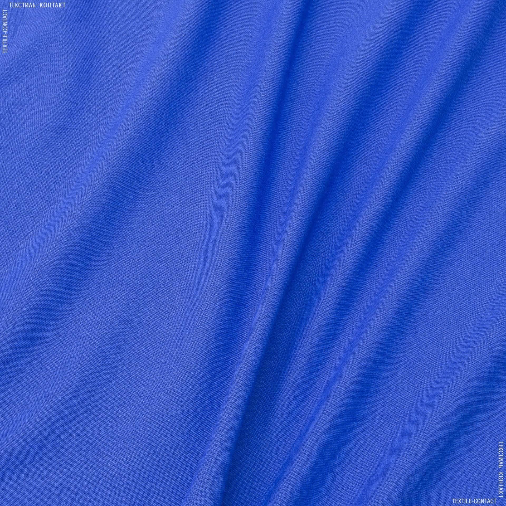 Тканини для штанів - Льон гранд волошковий