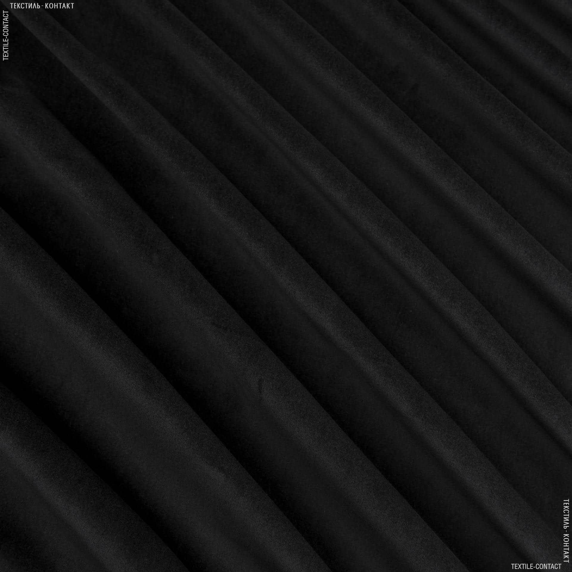 Ткани для верхней одежды - Костюмный бархат серо-черный