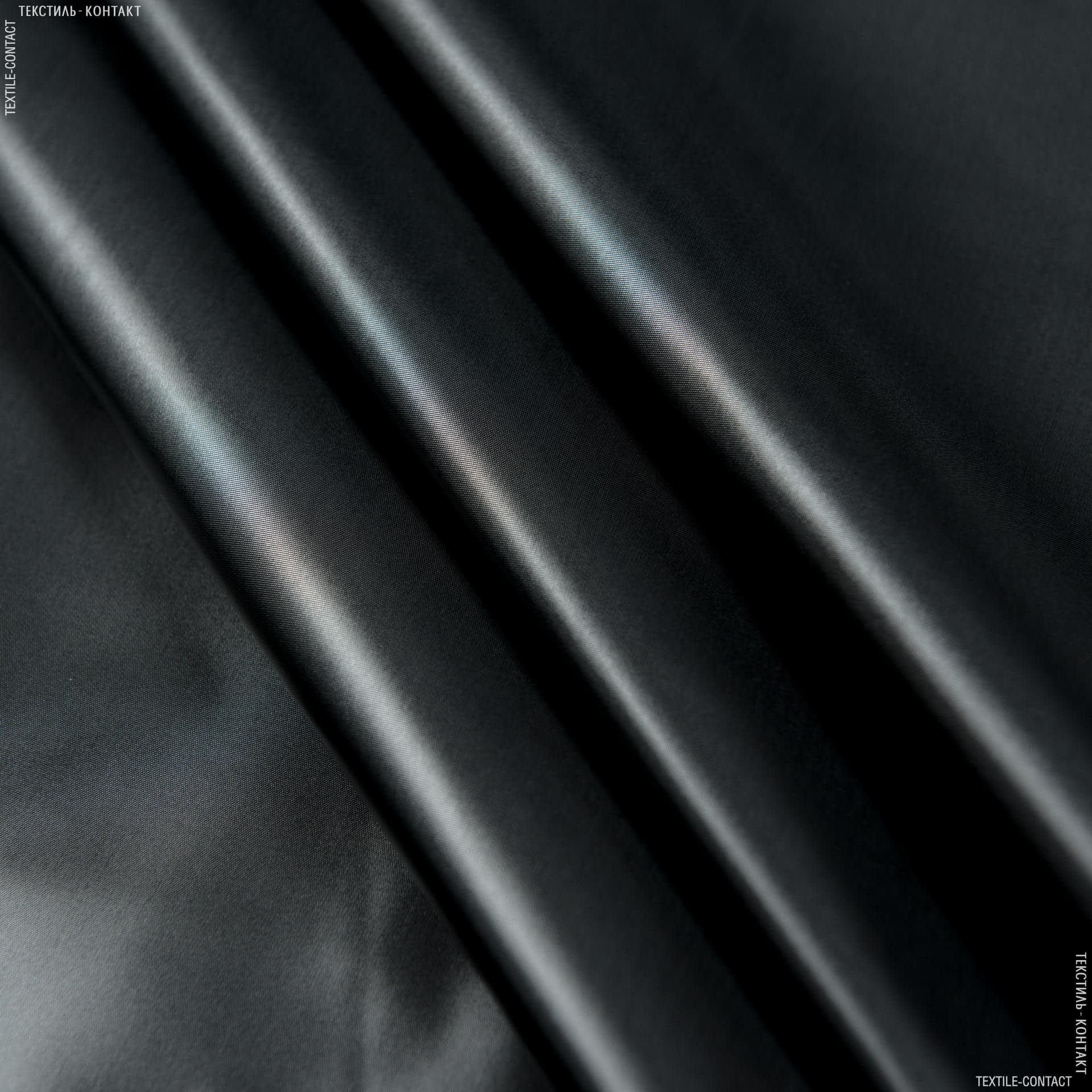 Ткани для верхней одежды - Плащевая руби лаке черный