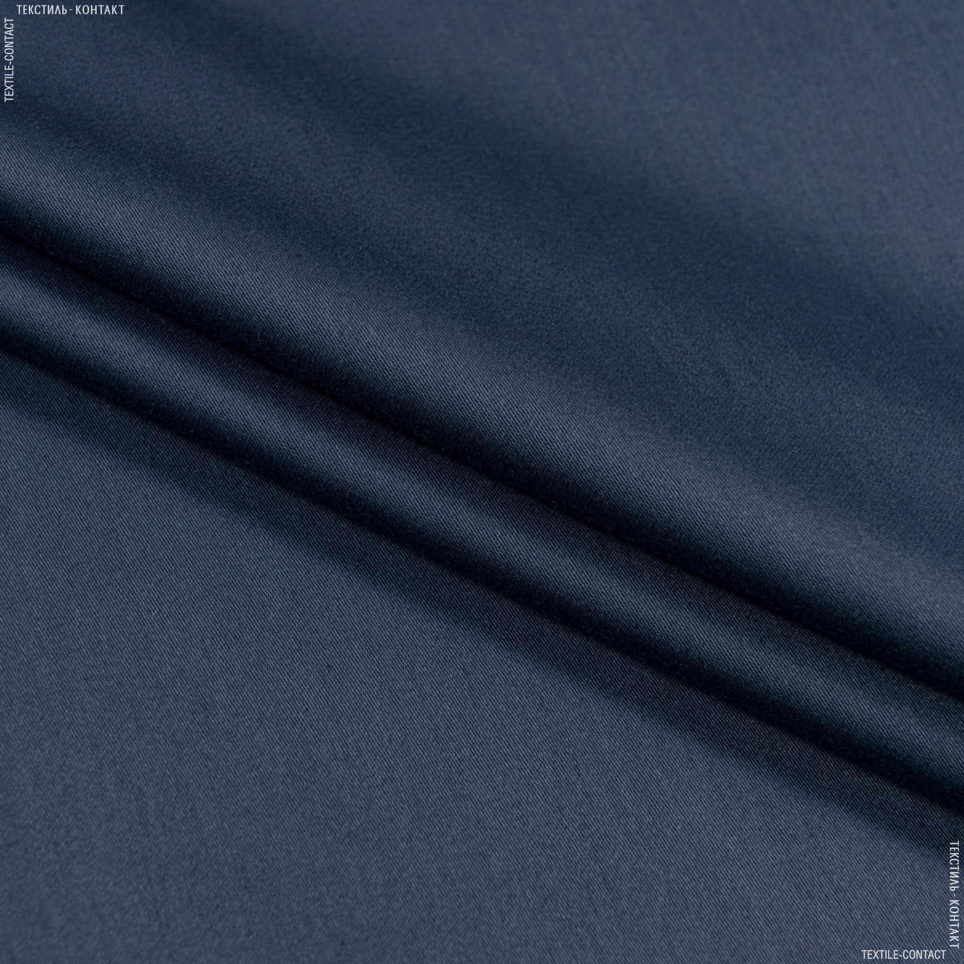 Тканини для банкетних і фуршетніх спідниць - Декоративний сатин чікаго/chicago синій