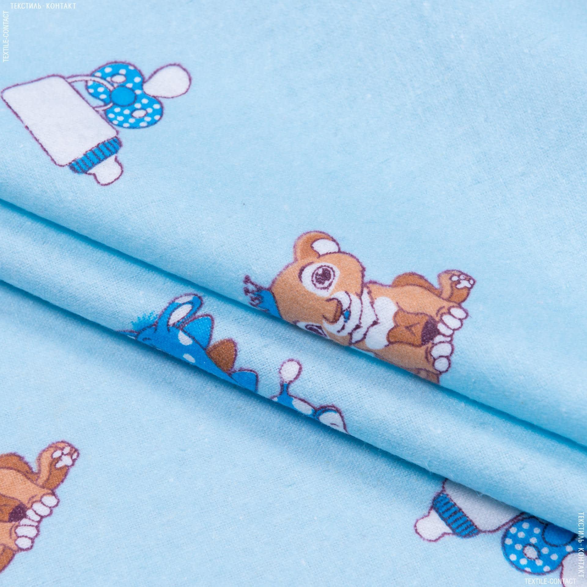Ткани для детской одежды - Фланель детская