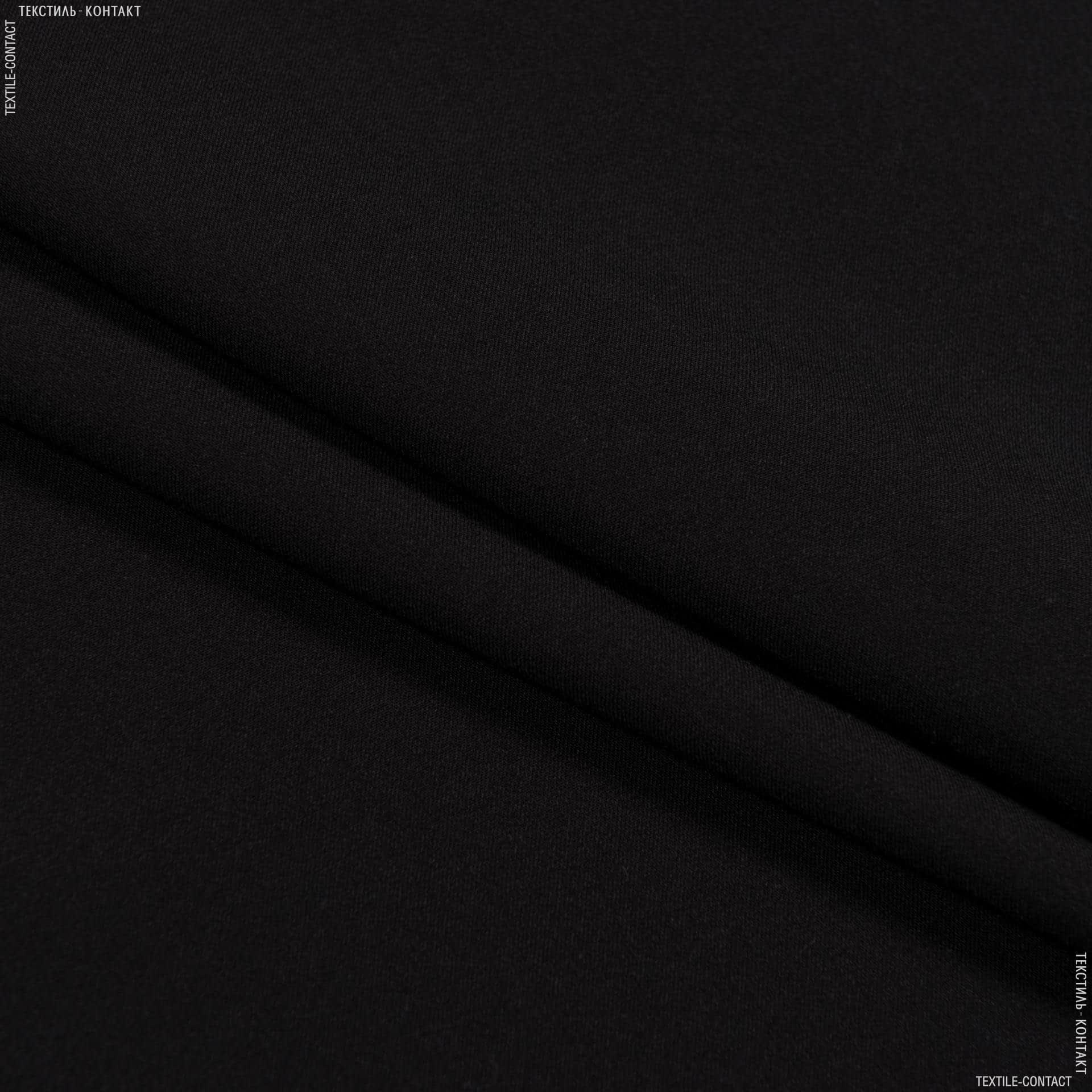 Ткани для брюк - Костюмная тесла черный
