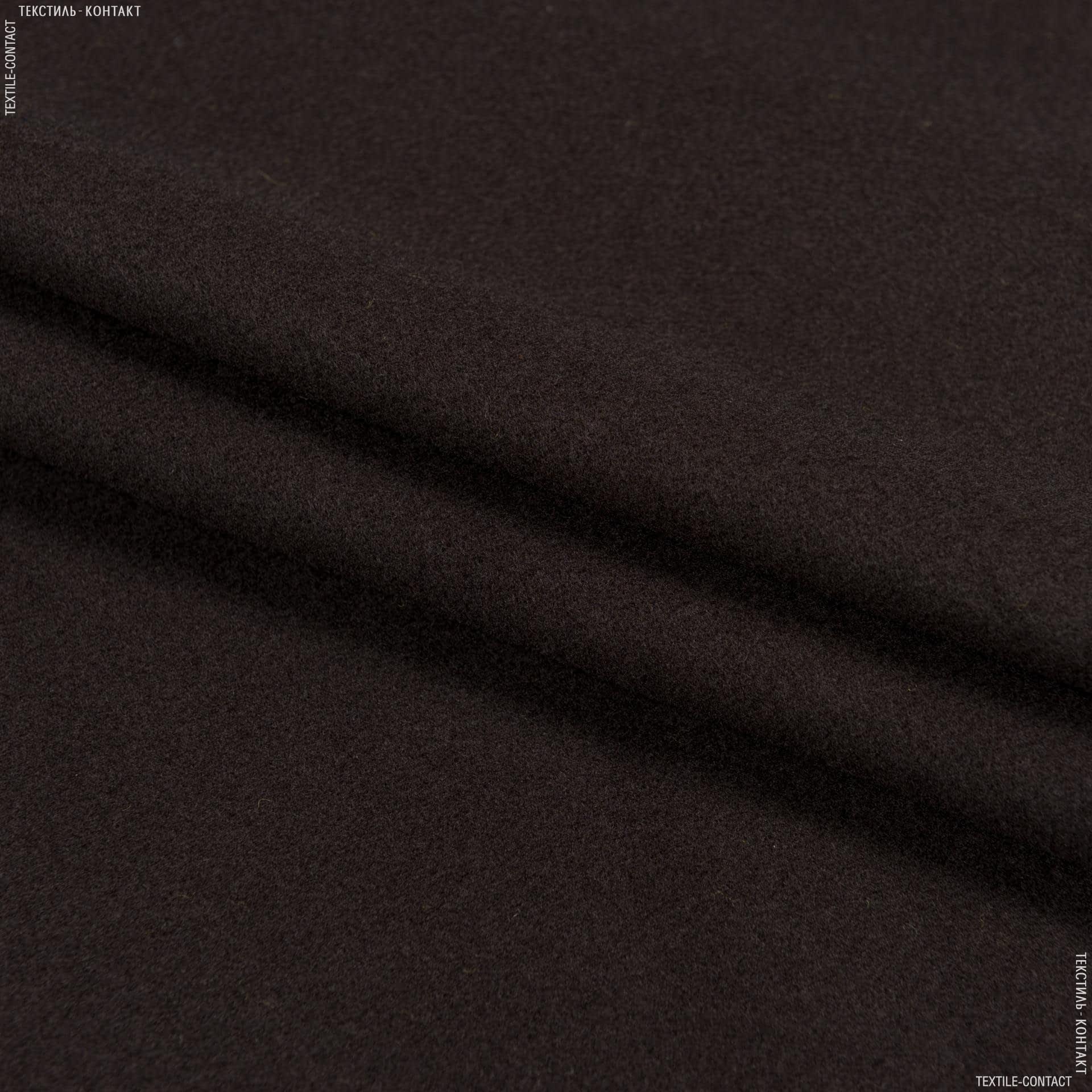 Тканини для верхнього одягу - Пальтовий кашемір вірджинія шоколадний