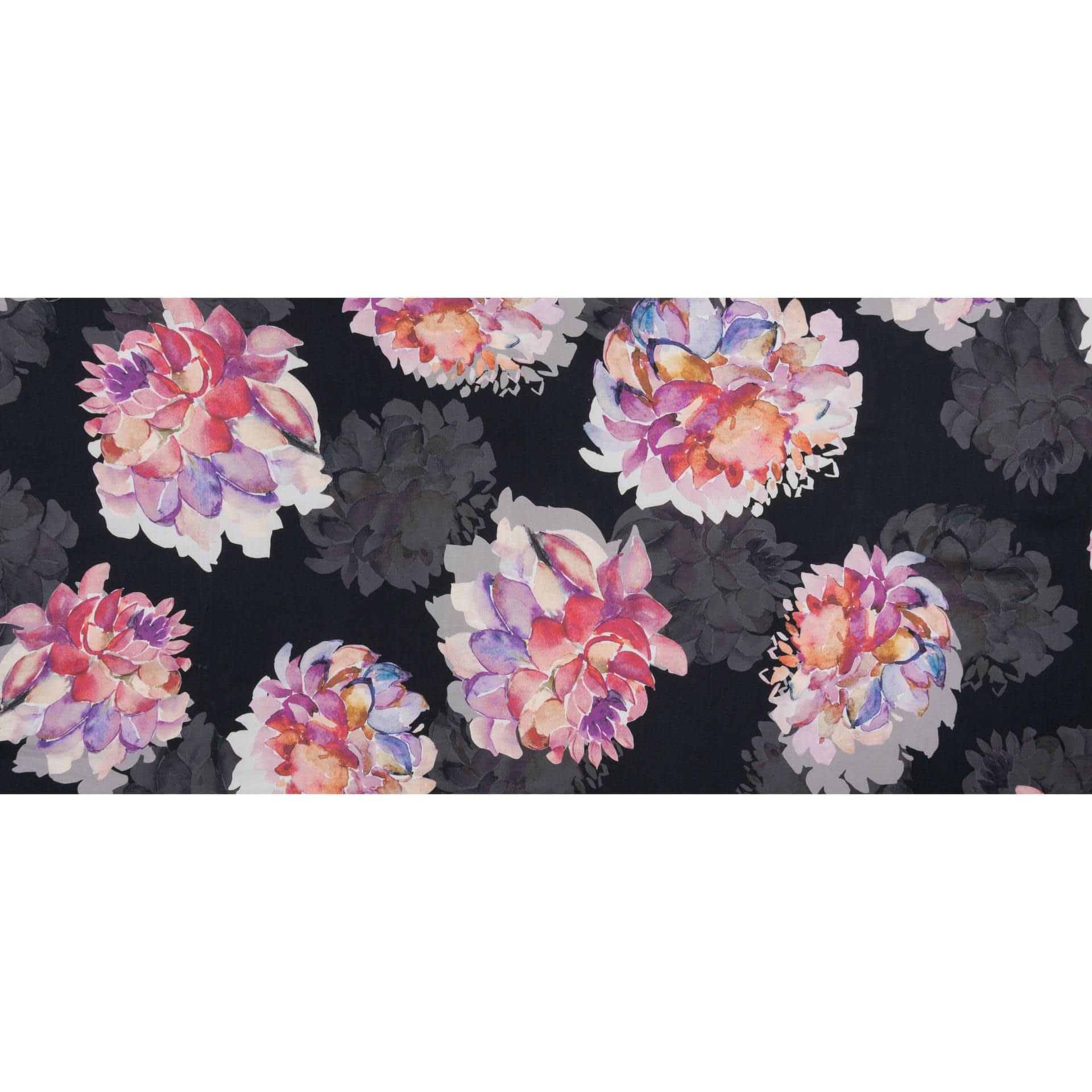 Ткани для платков и бандан - Плательный сатин принт