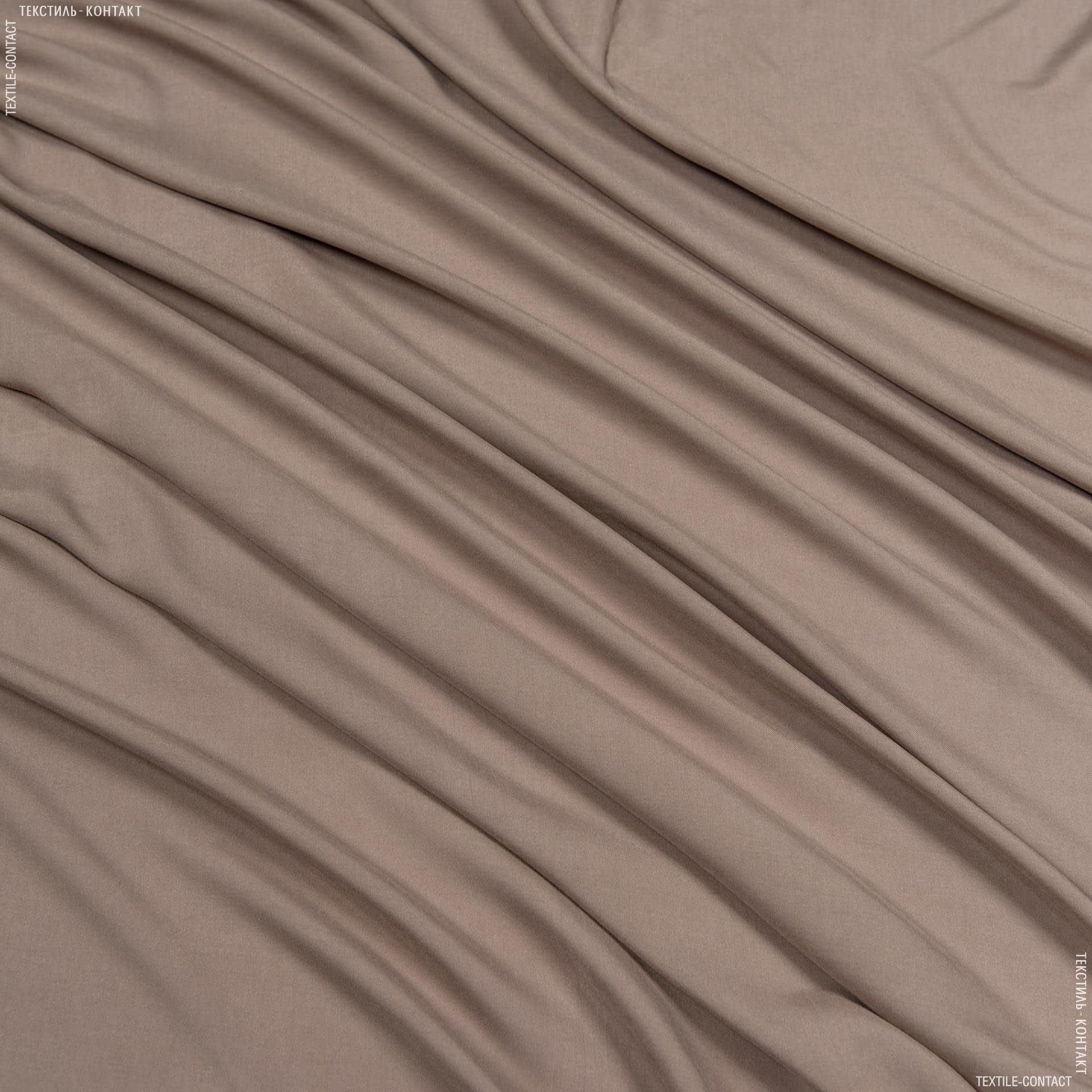 Ткани для детской одежды - Штапель фалма светло-коричневый