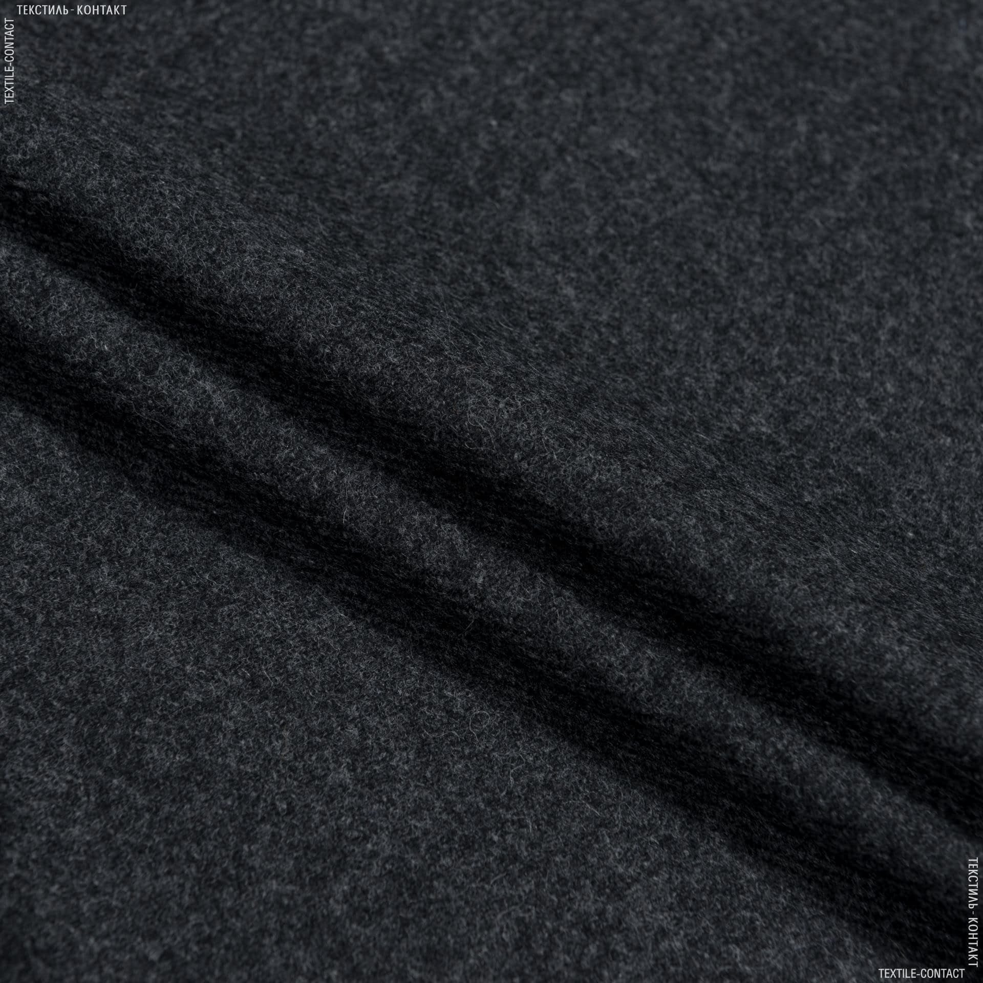 Ткани для брюк - Костюмная marzotto меланж серый