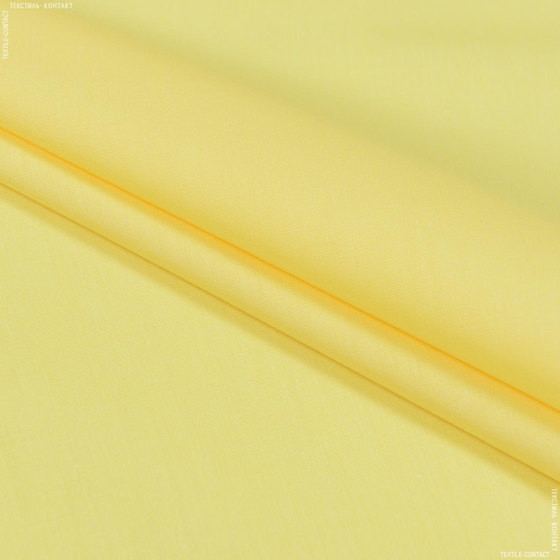 Тканини для суконь - Сорочкова світло-жовтий