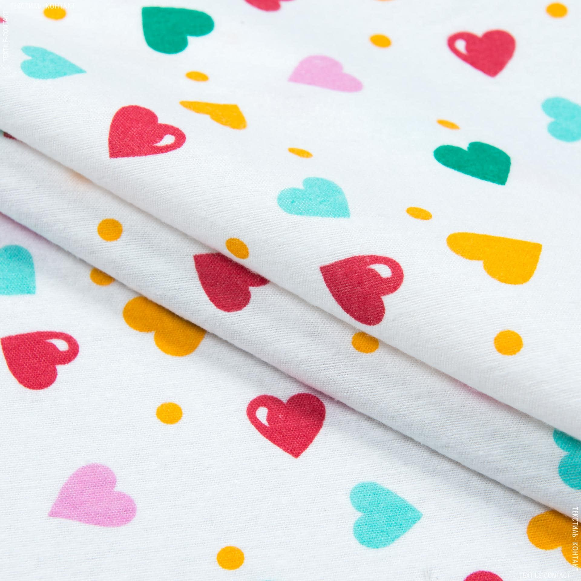 Тканини для дитячого одягу - Фланель білоземельна дитяча