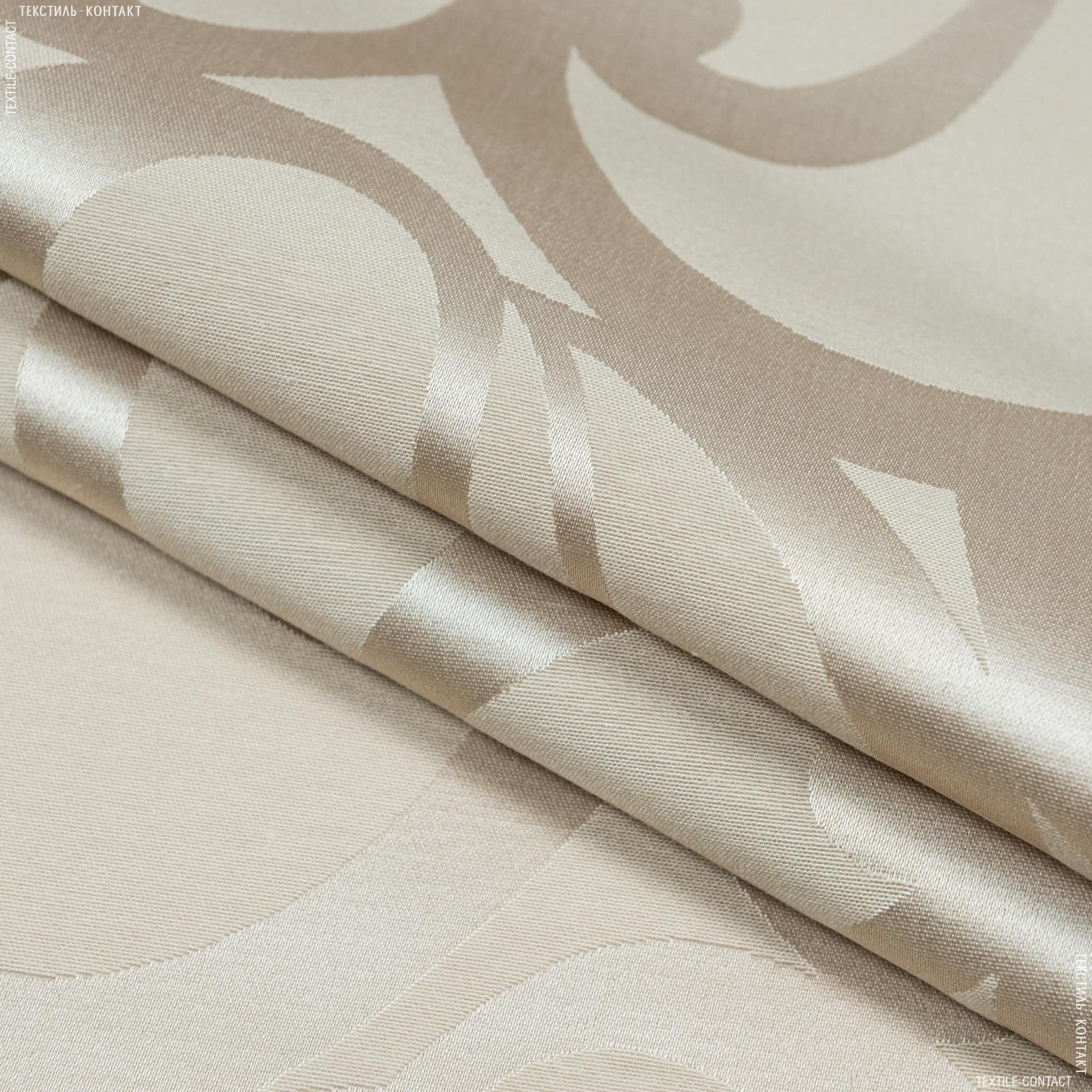 Ткани для скатертей - Ткань с акриловой пропиткой ресинадо/resinado беж
