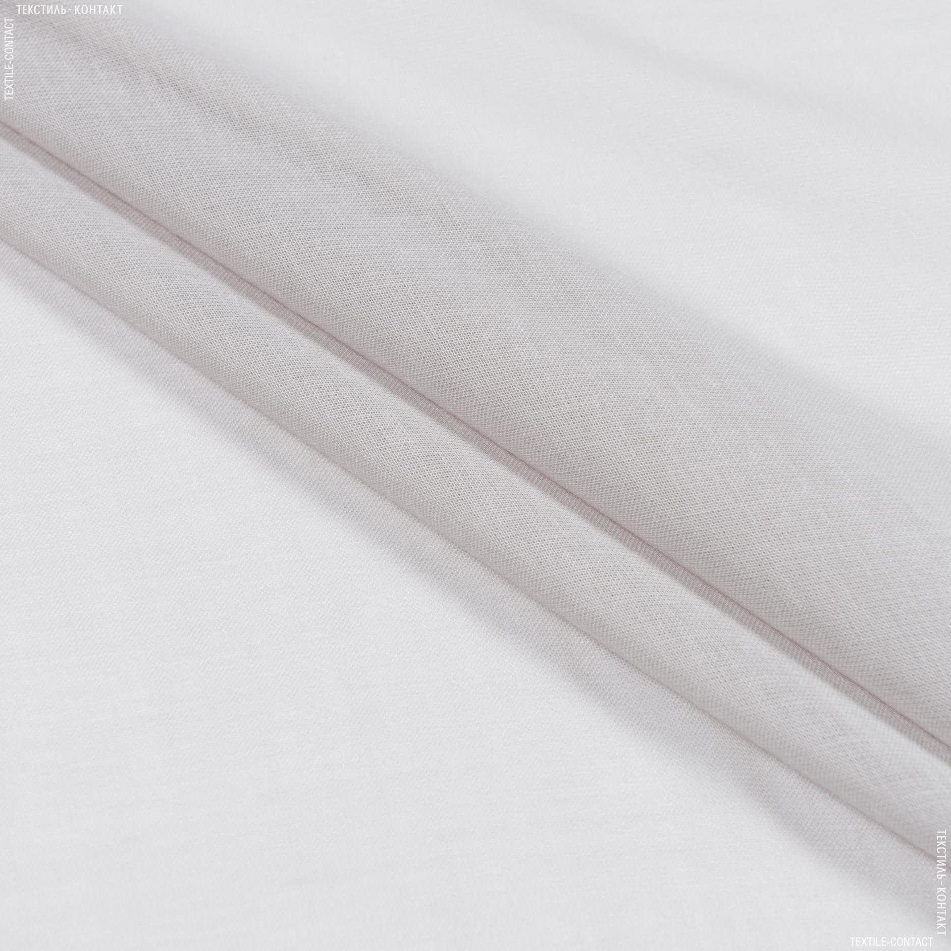 Ткани для драпировки стен и потолков - Тюль батист гавана с утяжелителем св.серый