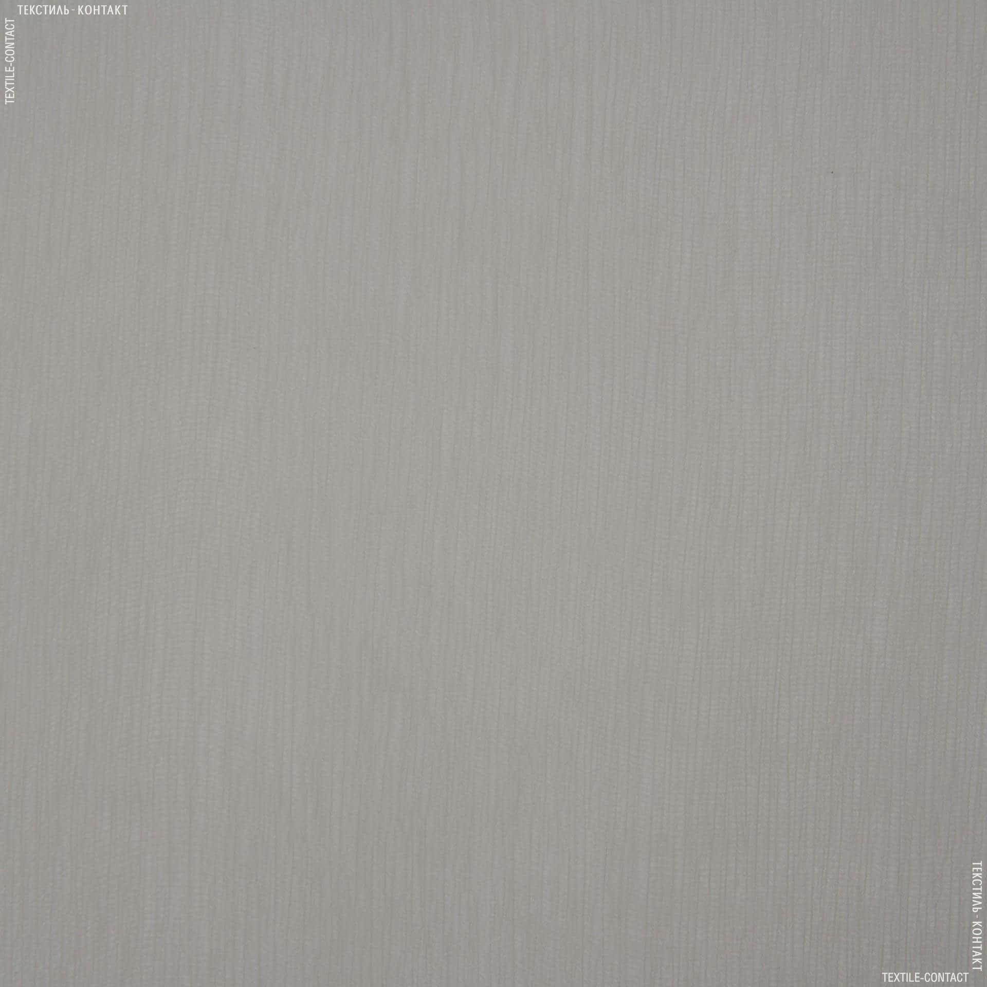 Тканини для хусток та бандан - Шифон євро сріблястий