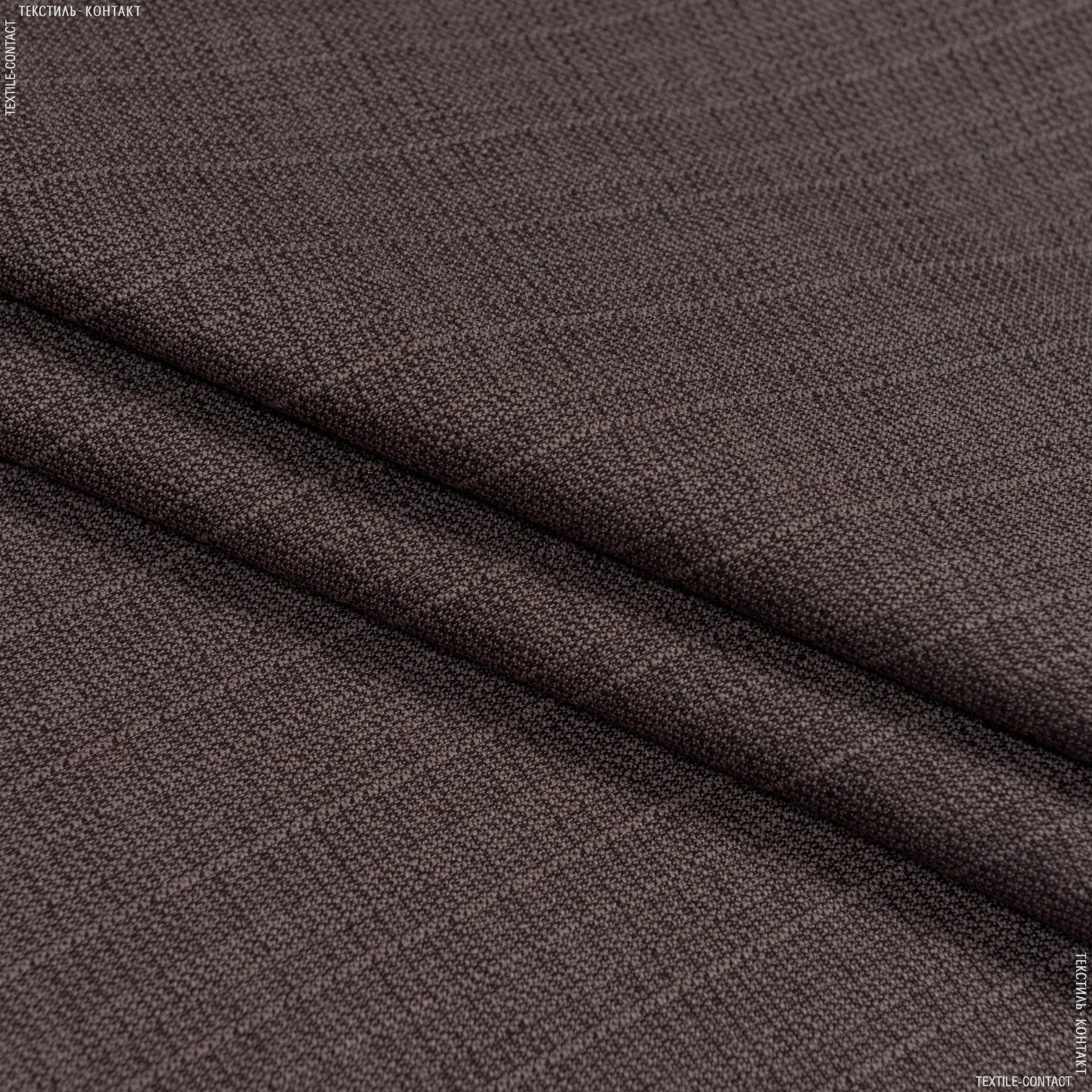 Тканини портьєрні тканини - Декоративна рогожка зелі кава лате