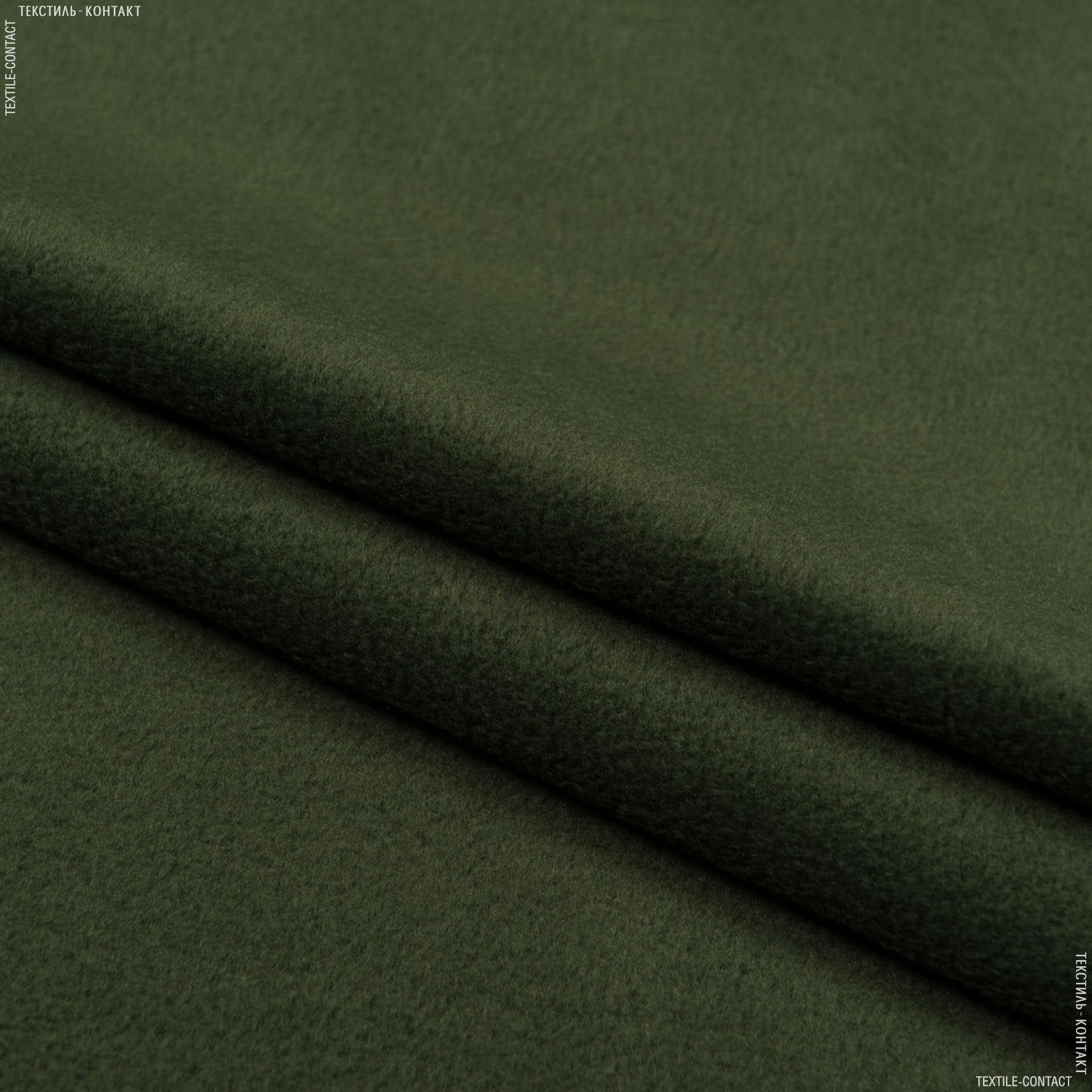 Ткани для спортивной одежды - Флис светлый хаки