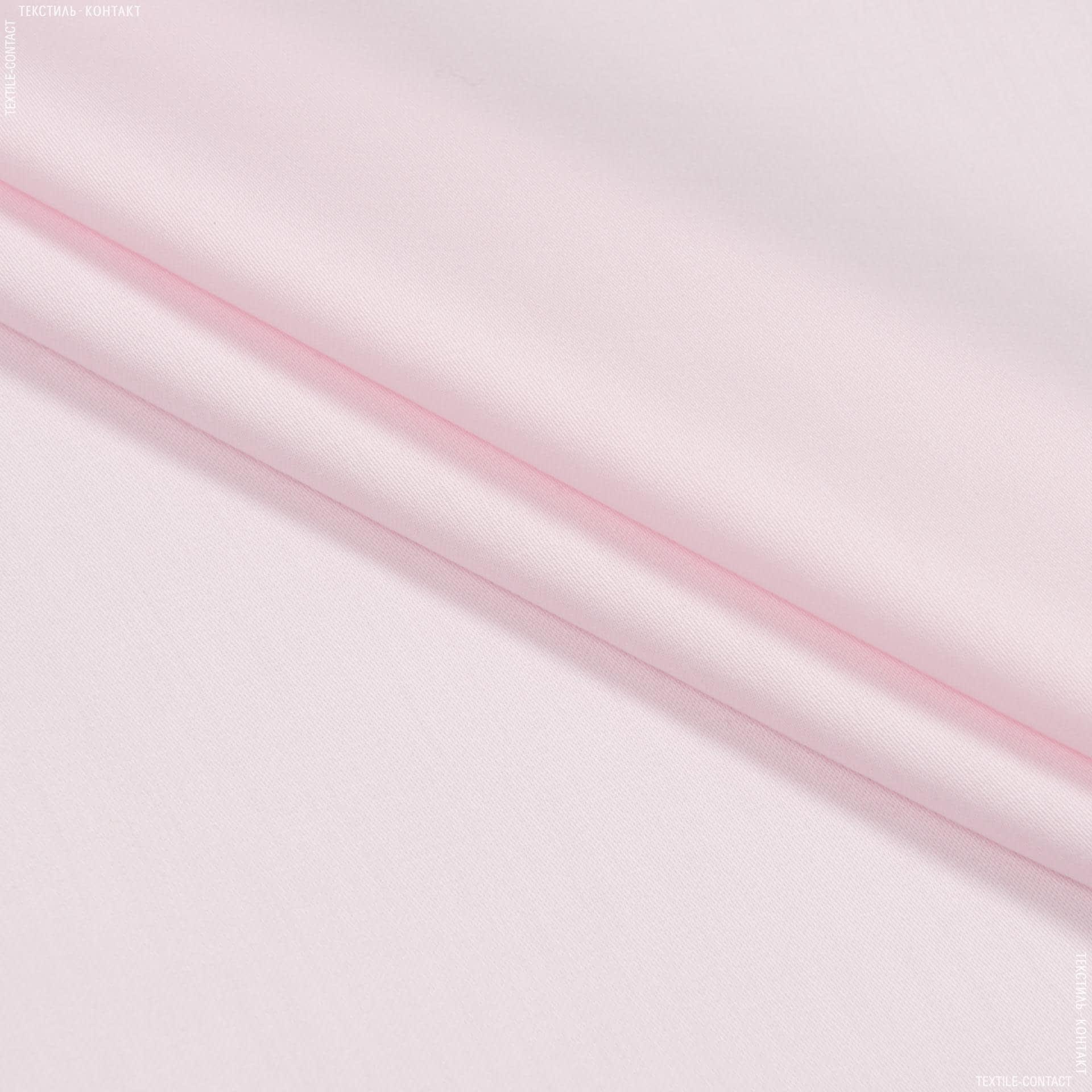 Ткани для детского постельного белья - Евро сатин   лисо / eurosaten liso  розовий