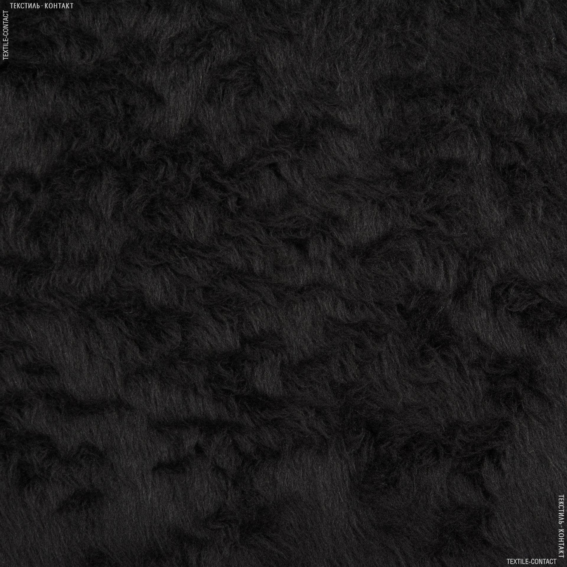 Тканини для спец.одягу - Хутро взуттєве чорний