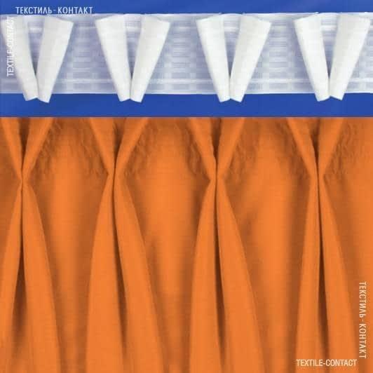 Тканини фурнітура для дома - ТАСЬМА ШТОРНА КС-1:2.5 80мм±0.5мм/100м матова V-образна