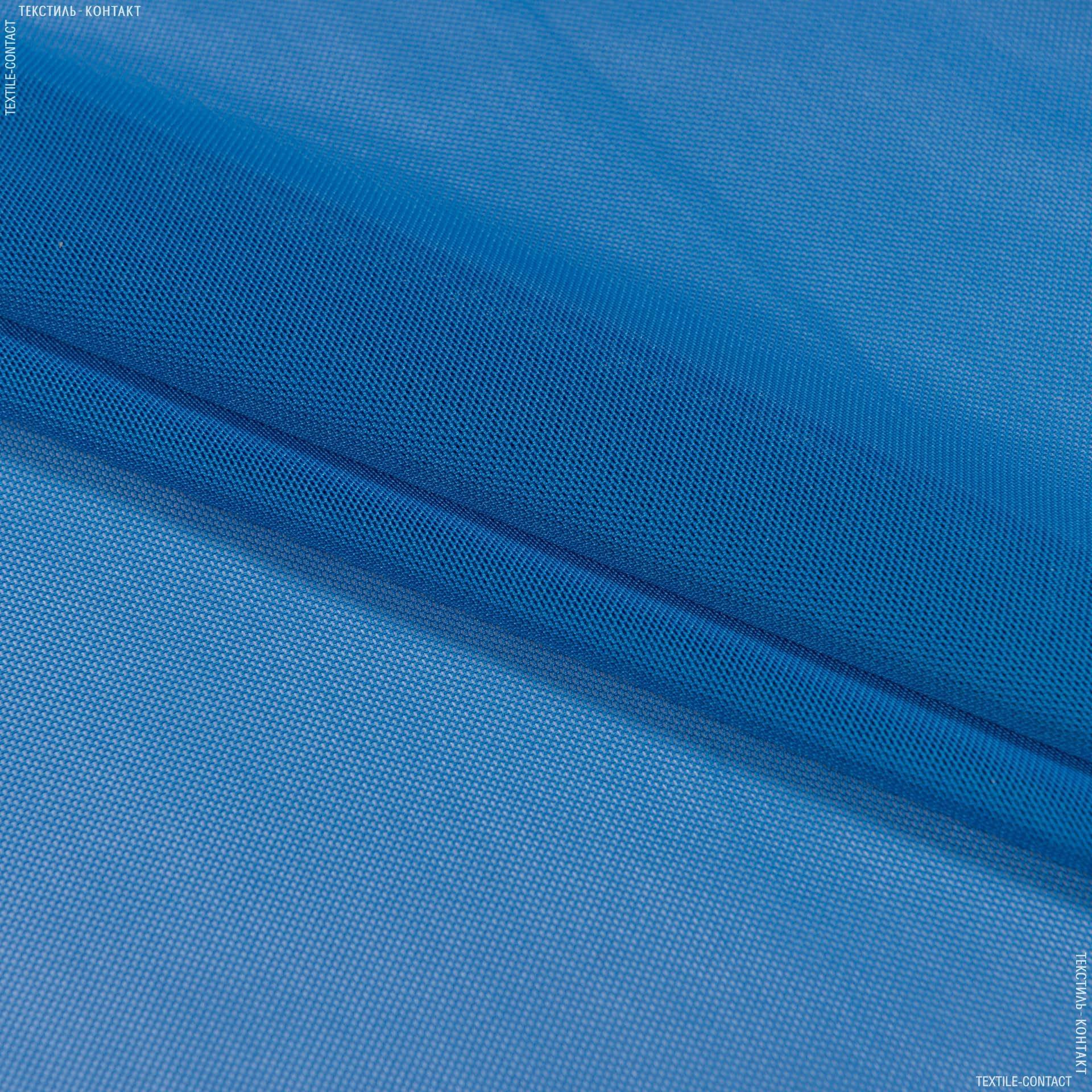 Ткани для спортивной одежды - Сетка стрейч светло-синий