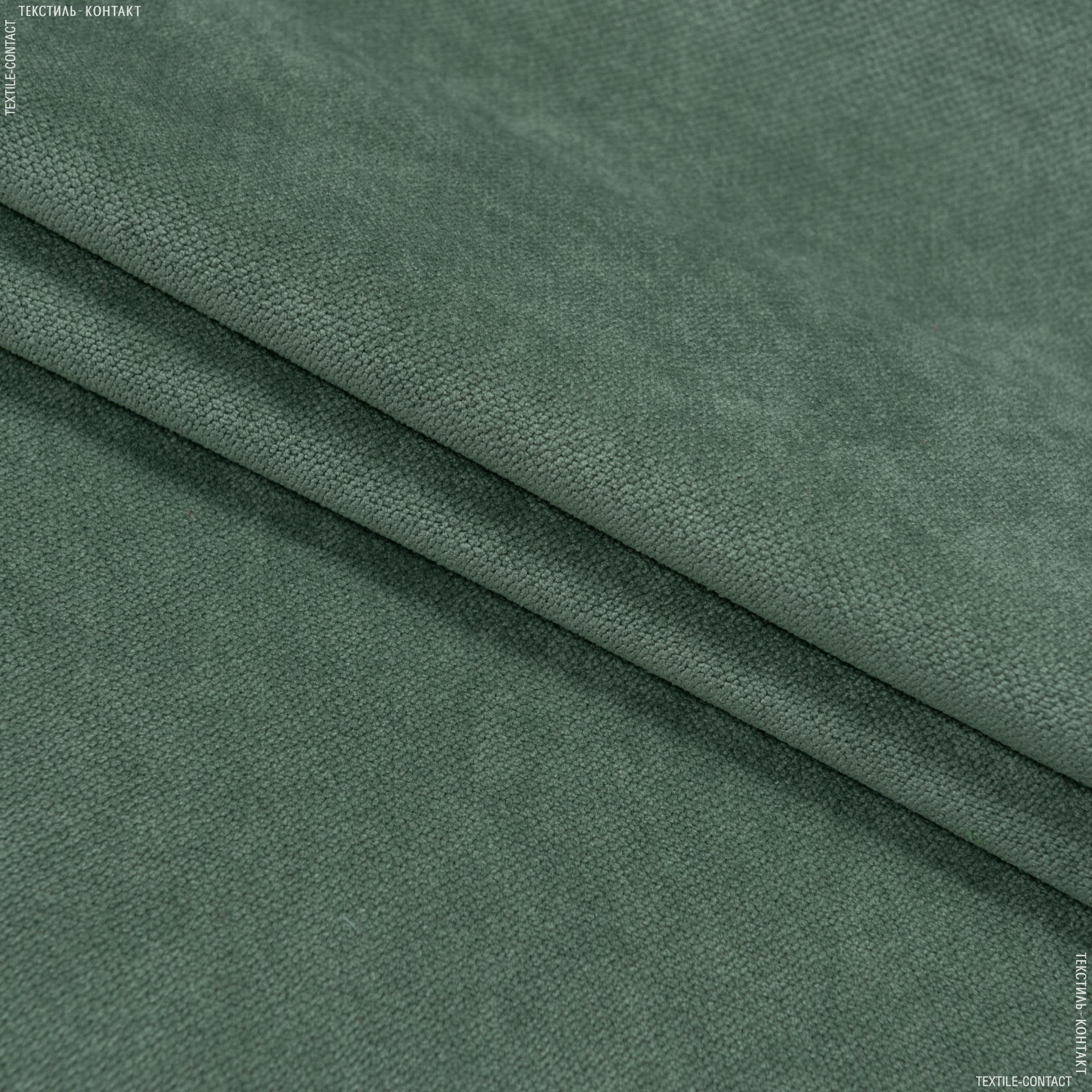 Ткани для мебели - Велюр будапешт/budapest морская зелень