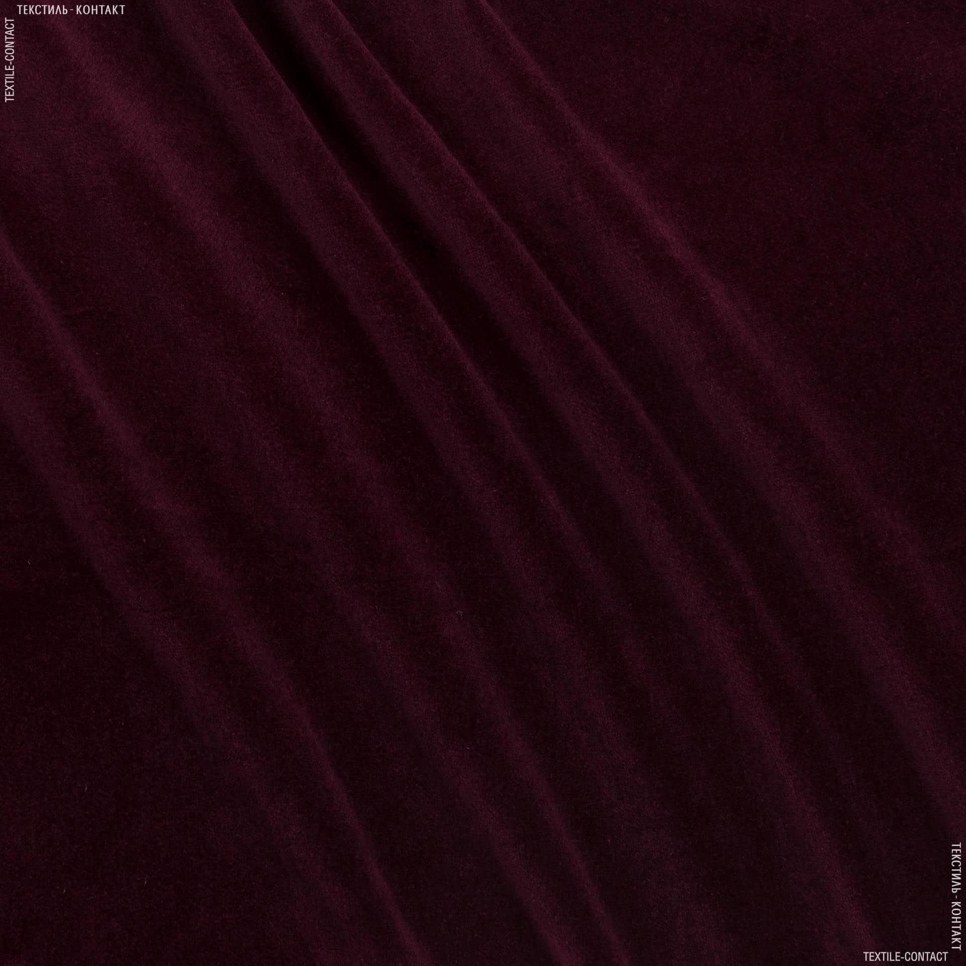 Тканини портьєрні тканини - Костюмний оксамит бордовий