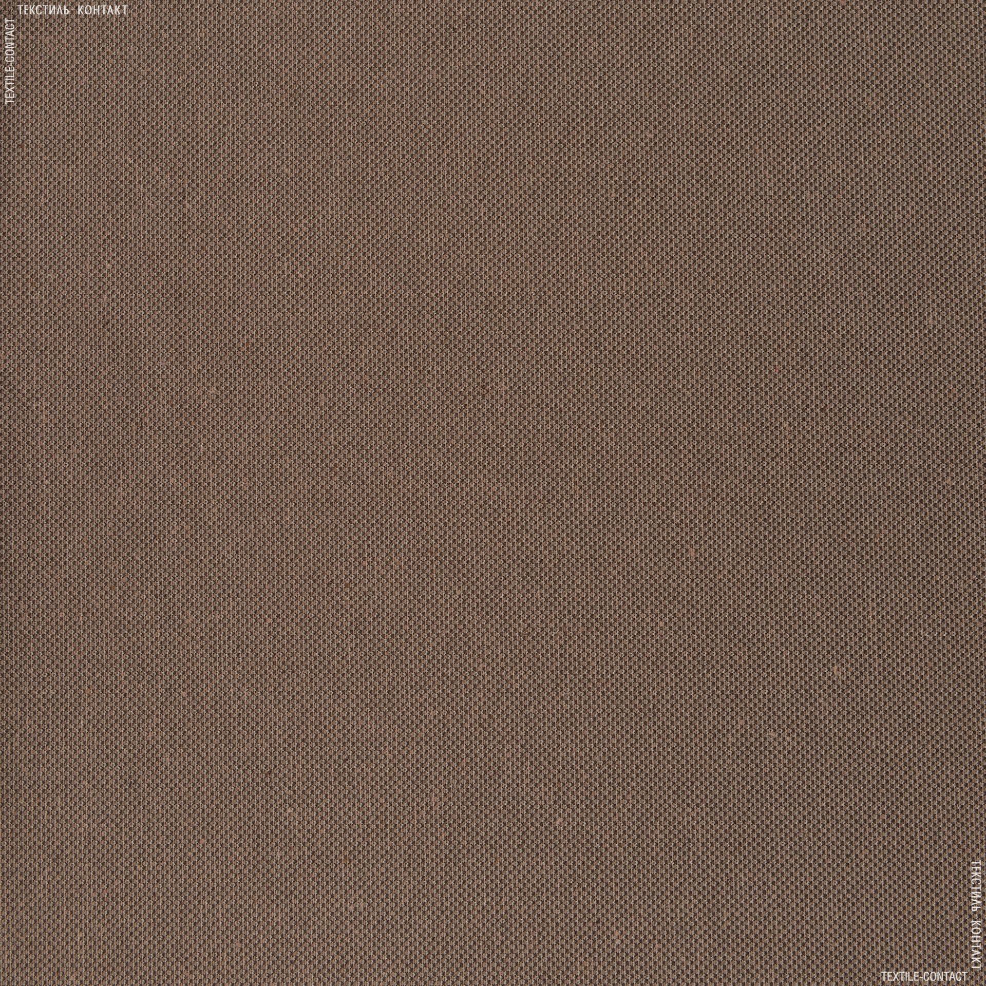 Тканини для сумок - Декор рогожка альбіно коричневий/мідь