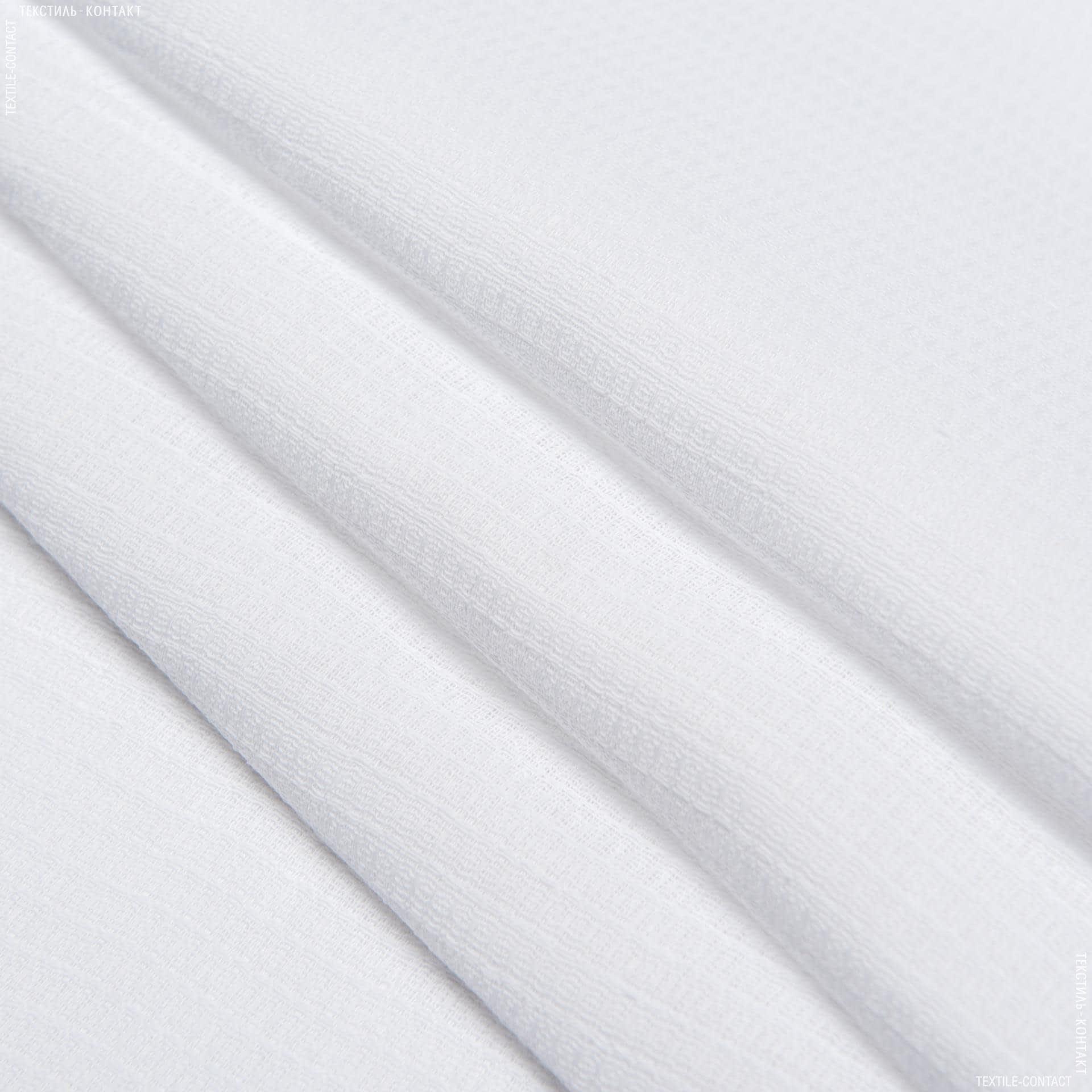 Ткани для полотенец - Ткань полотенечная вафельная отбеленная