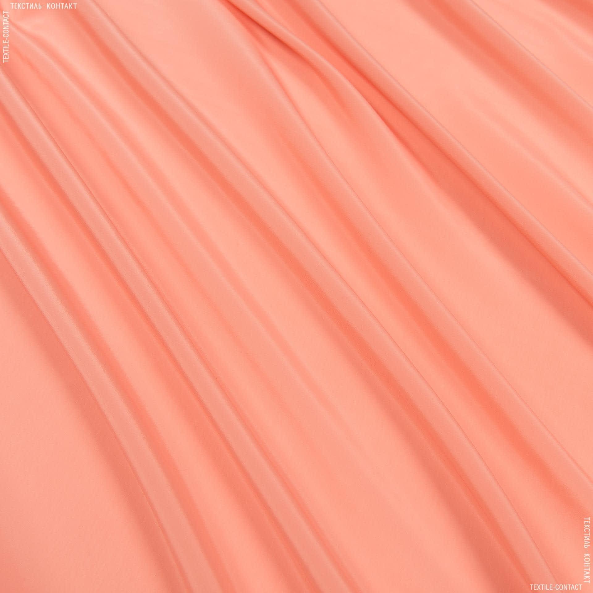 Ткани для платков и бандан - Креп кошибо абрикосовый