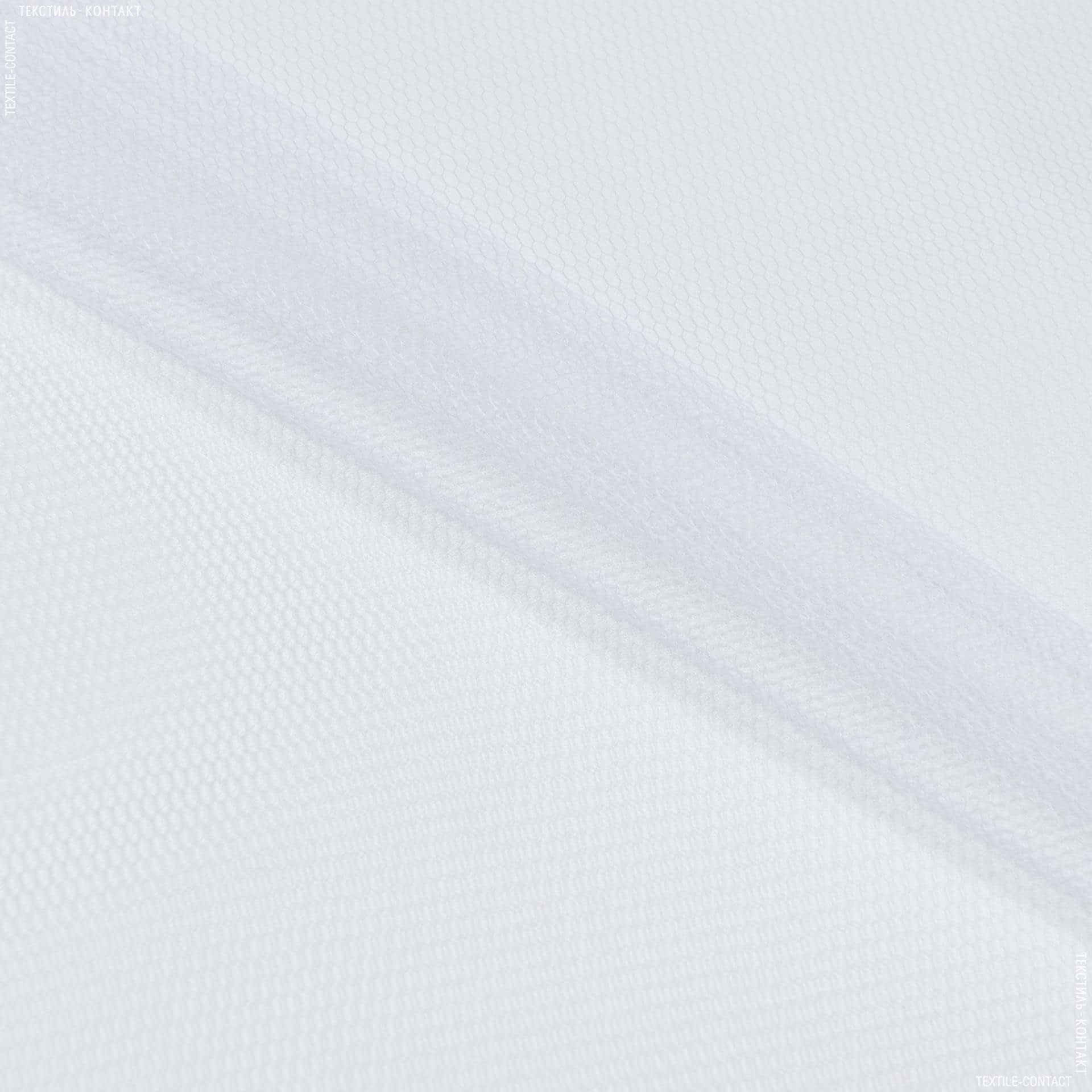 Тканини для блузок - Фатин жорсткий білий