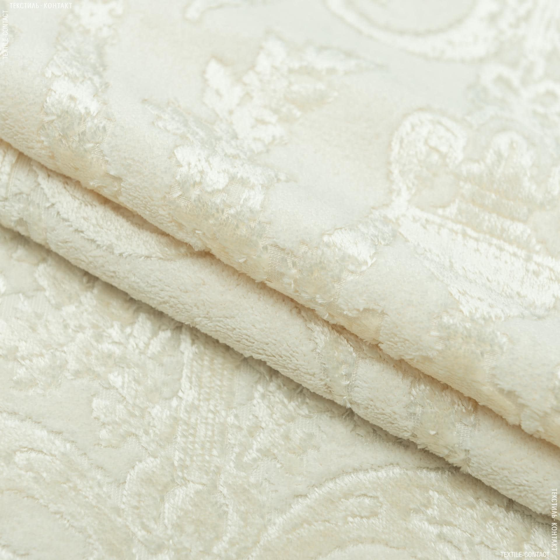 Ткани для мебели - Велюр   Дарая/Версаль  крем-брюле  (аналог 154720)