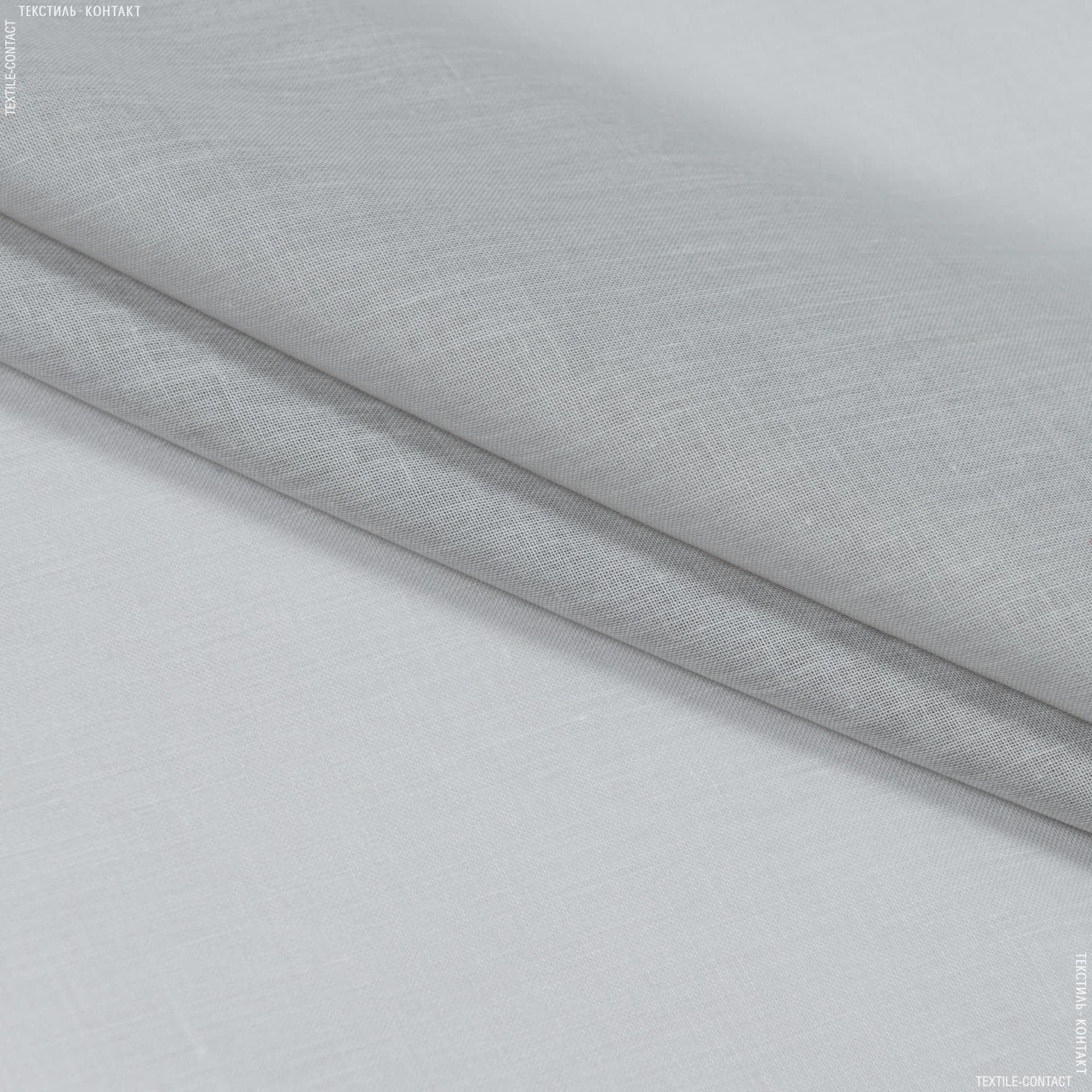 Тканини для драпірування стін і стель - Тюль  батист  люсент/lucent сірий