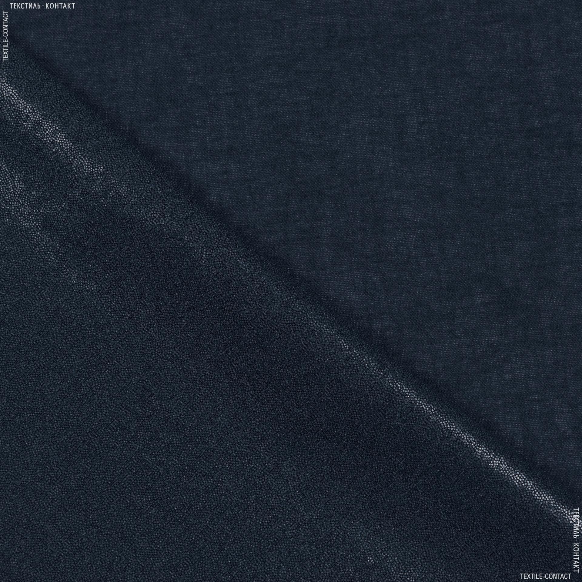 Тканини дублірин, флізелін - Бязь клейова 112г/м чорний