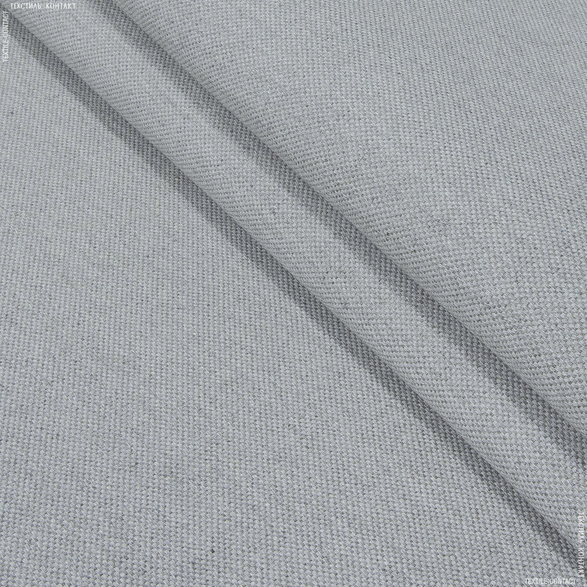 Ткани для маркиз - Декоративная ткань  оскар  св.серый
