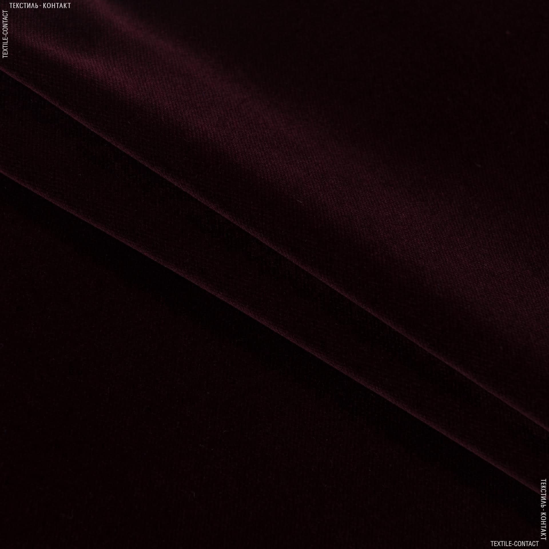 Ткани для мебели - Велюр  новара/novara бургунди сток