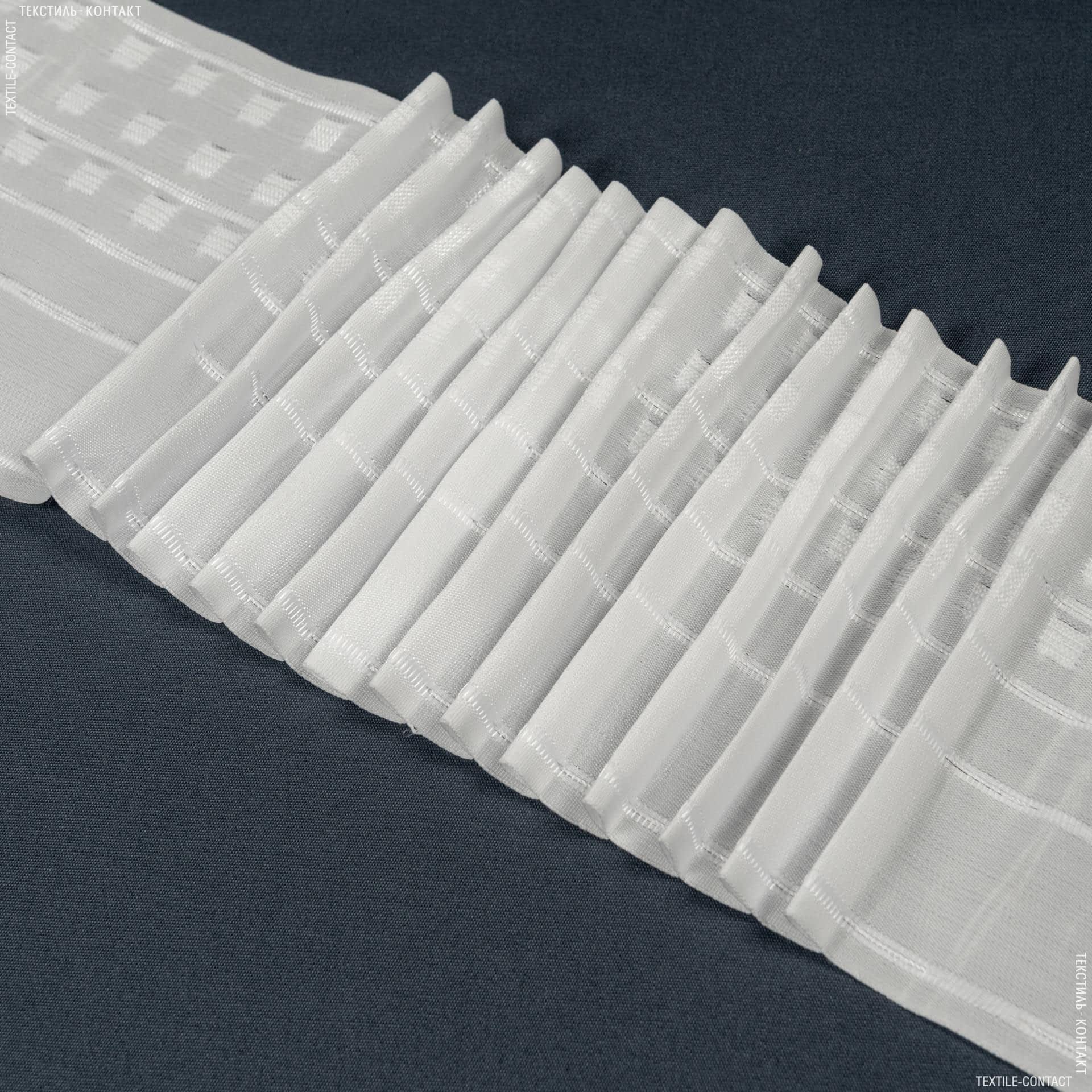 Ткани фурнитура для дома - ТЕСЬМА ШТОРНАЯ КС-1:2.5 170мм±0.5мм /50м матовая Равномерная