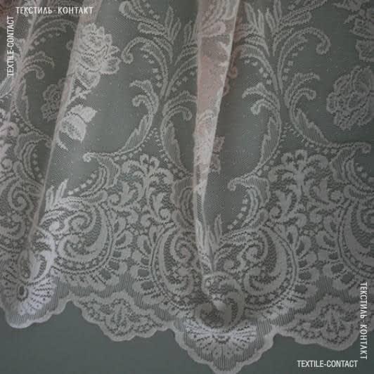 Ткани для тюли - Гард пол  гипюр Александра розовый