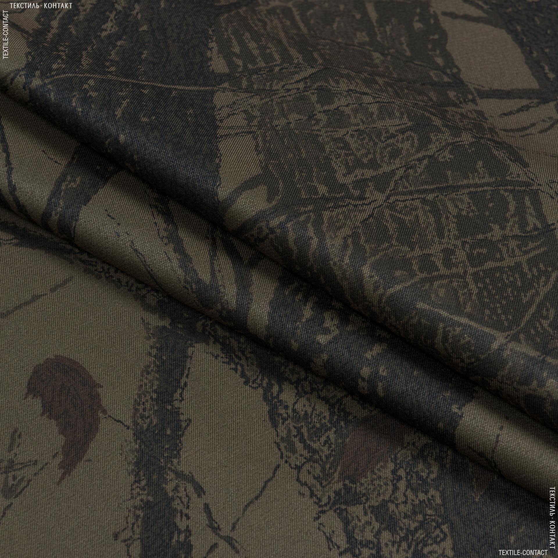 Тканини для спецодягу - Грета 2710 ВСТ камуфльована ліс