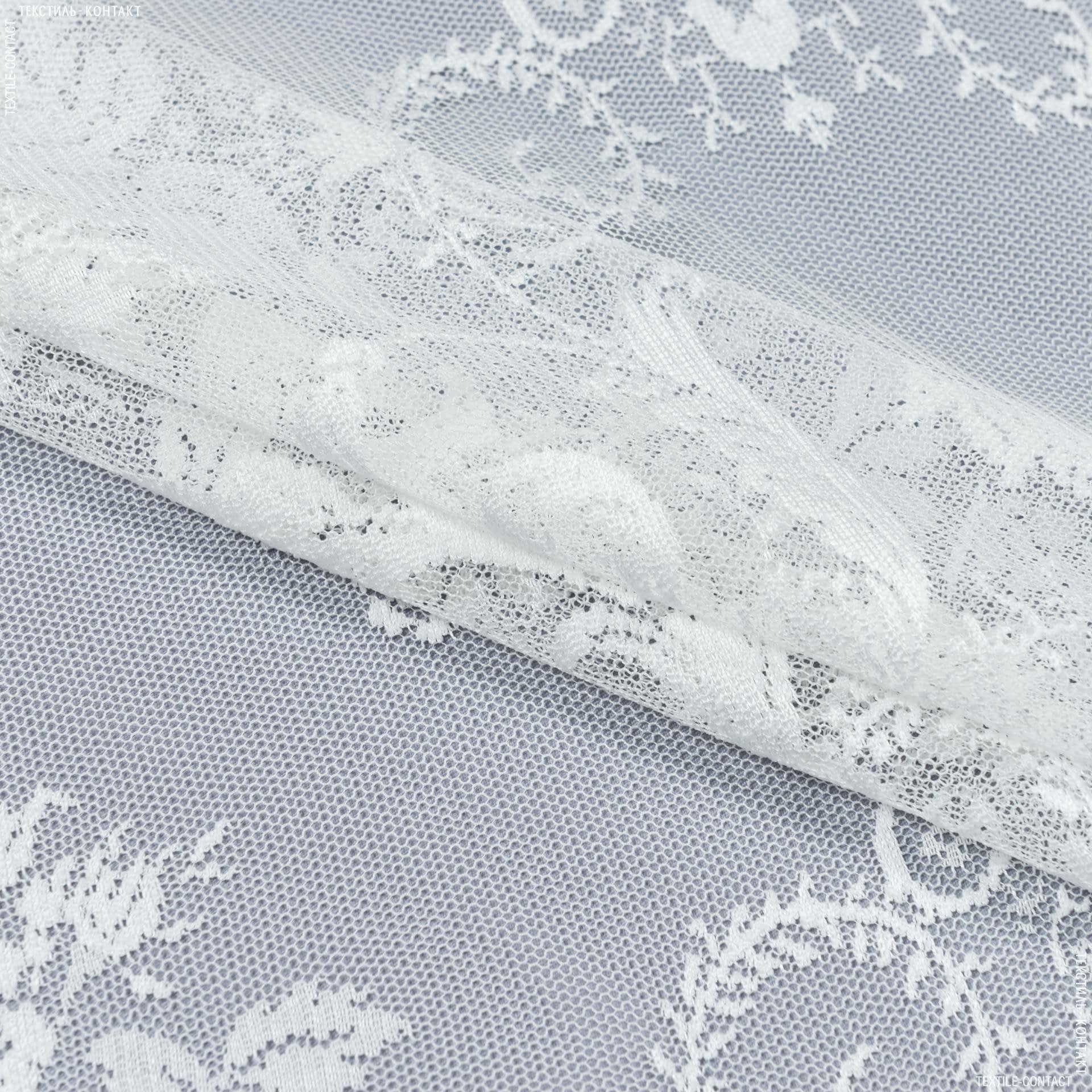 Ткани гардинные ткани - Гардинное полотно / гипюр эстера молочный