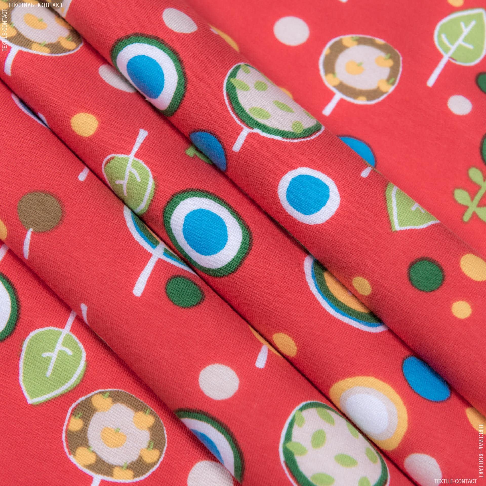 Ткани для детской одежды - Трикотажное полотно принт