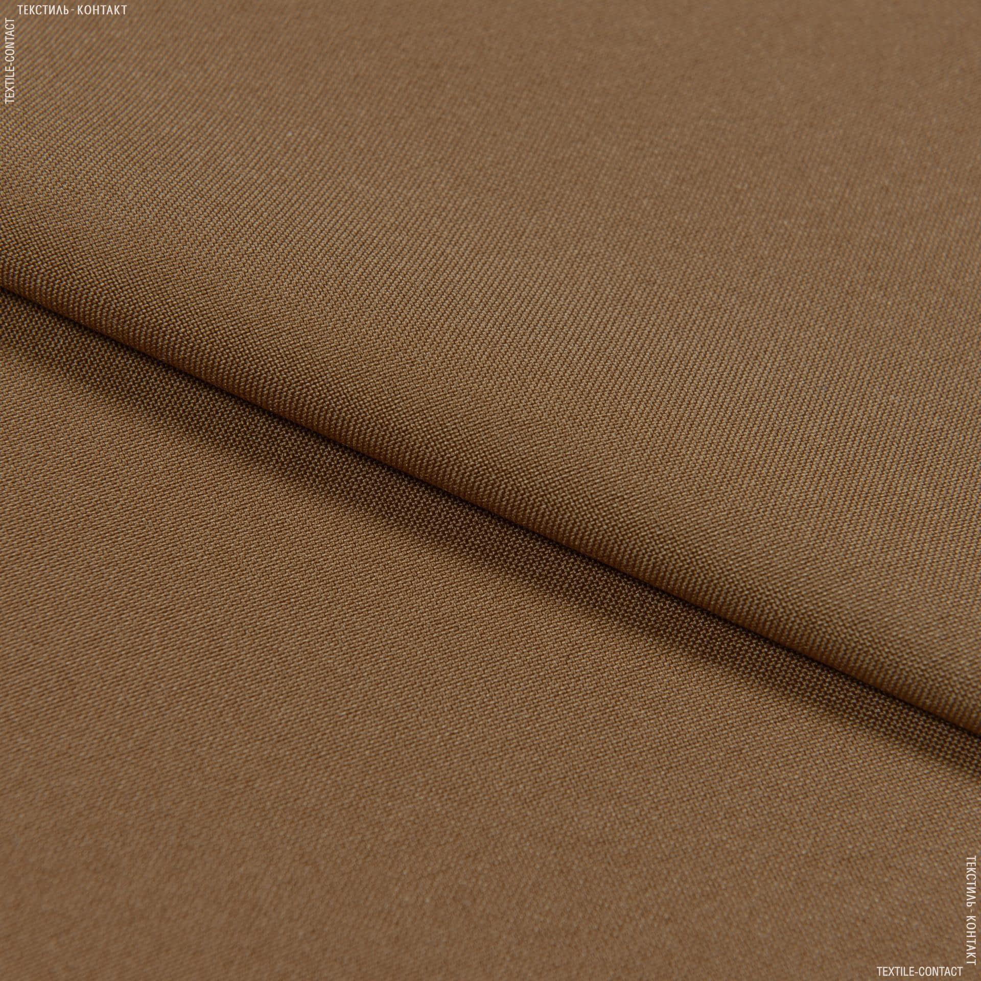 Тканини для штанів - Габардин світло-коричневий